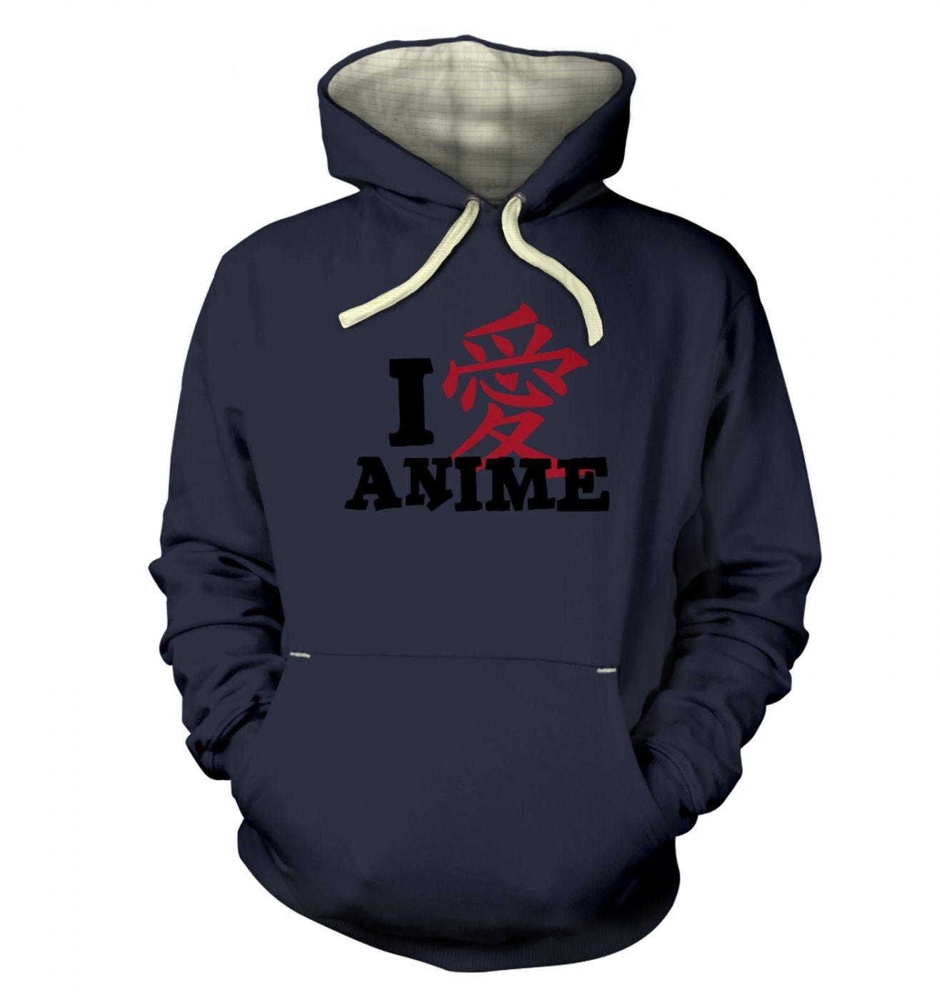 I Love Anime! premium hoodie
