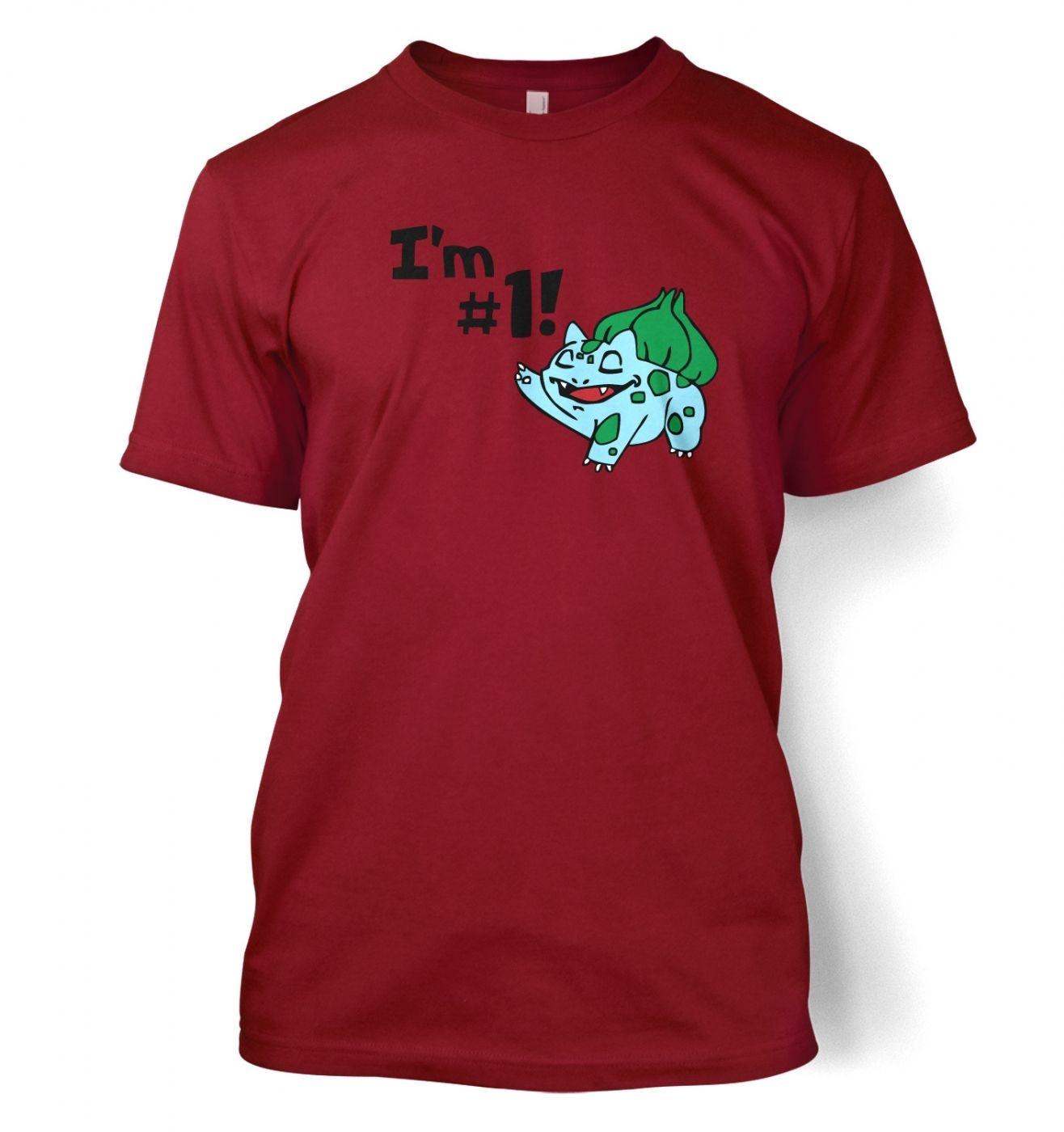 I'm #1! men's t-shirt