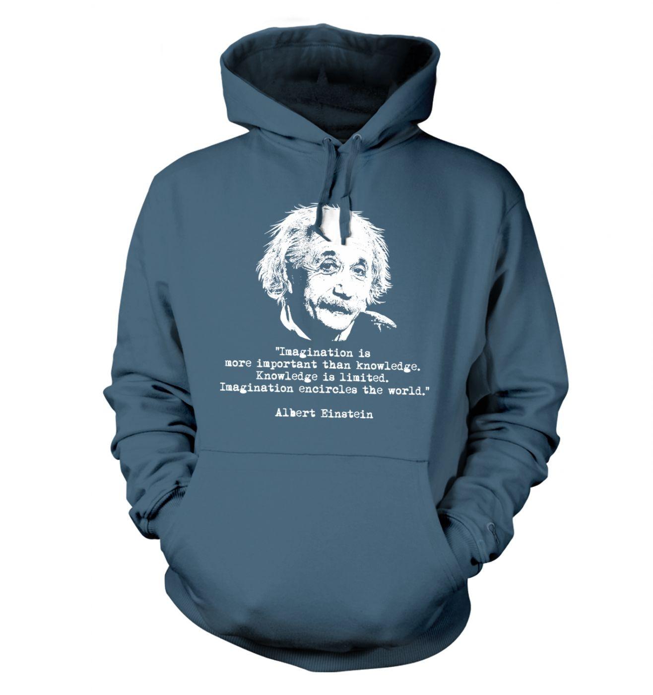 Imagination Quote Einstein hoodie