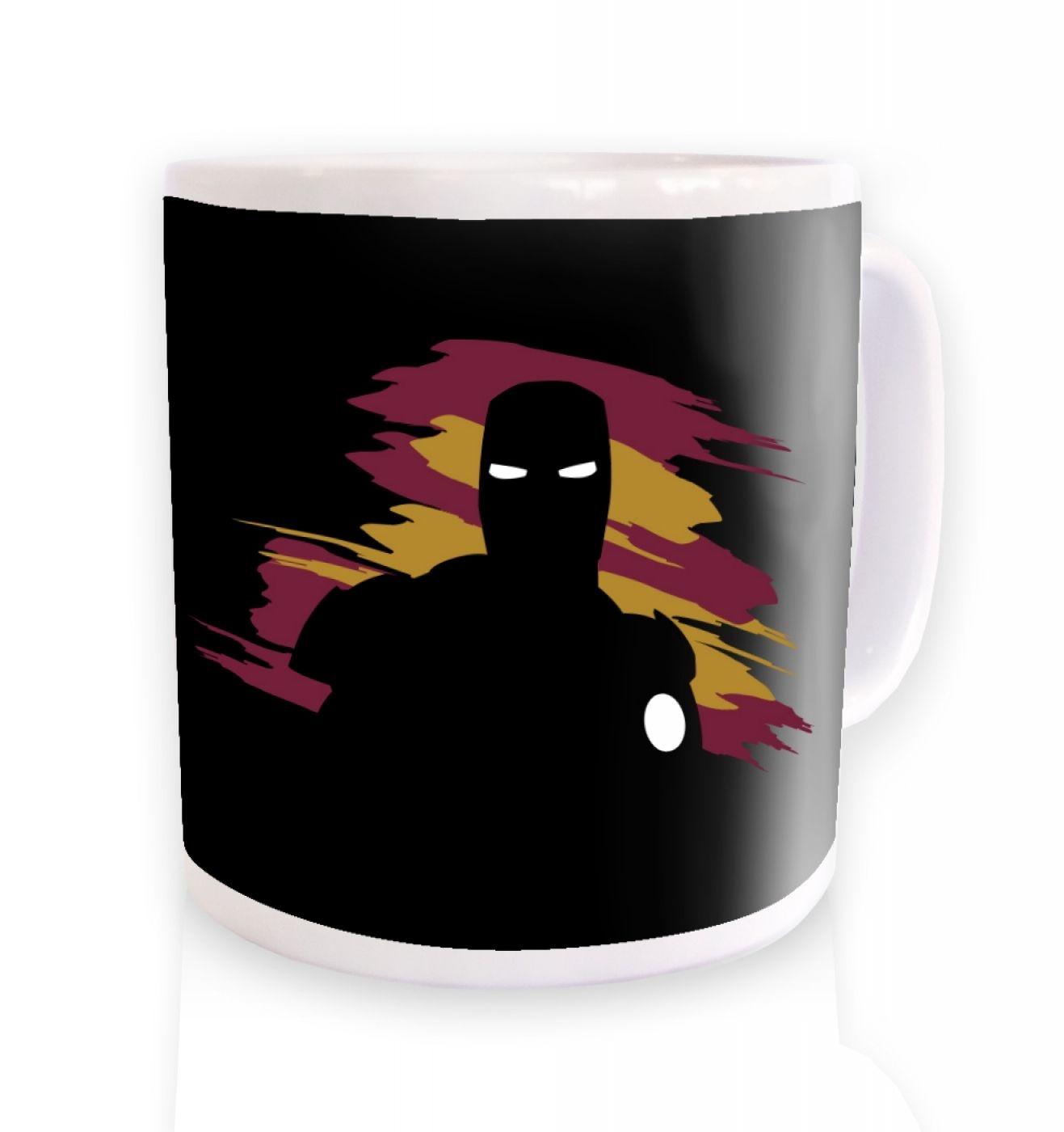 iMan silhouette inspired by Iron Man & The Avengers Mens Mug