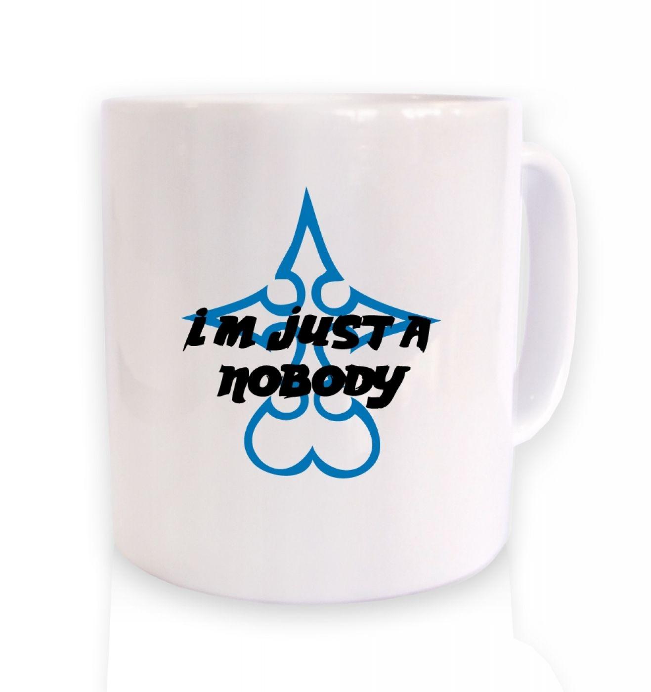 Just A Nobody ceramic coffee mug