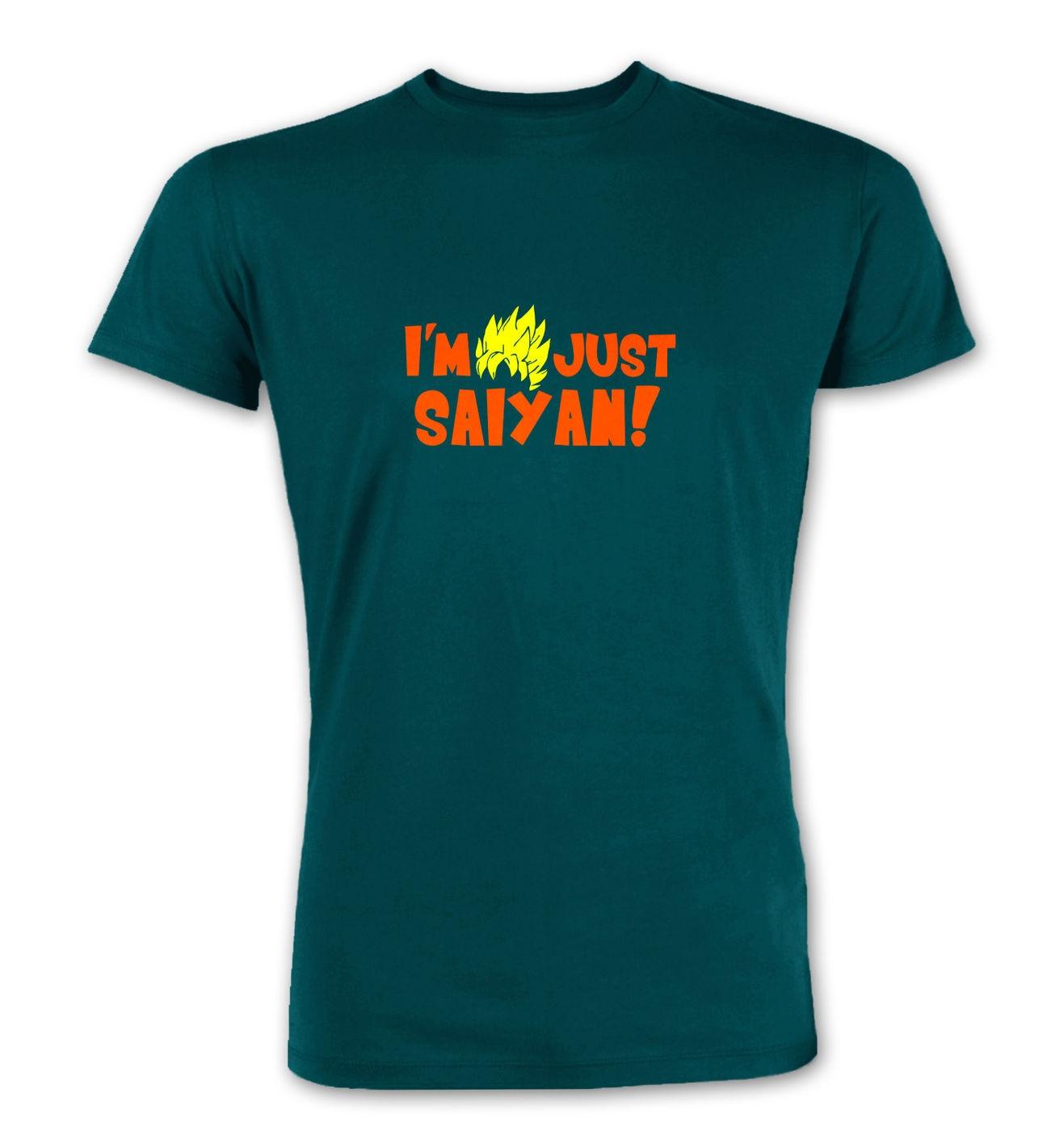 I'm Just Saiyan premium t-shirt by Something Geeky