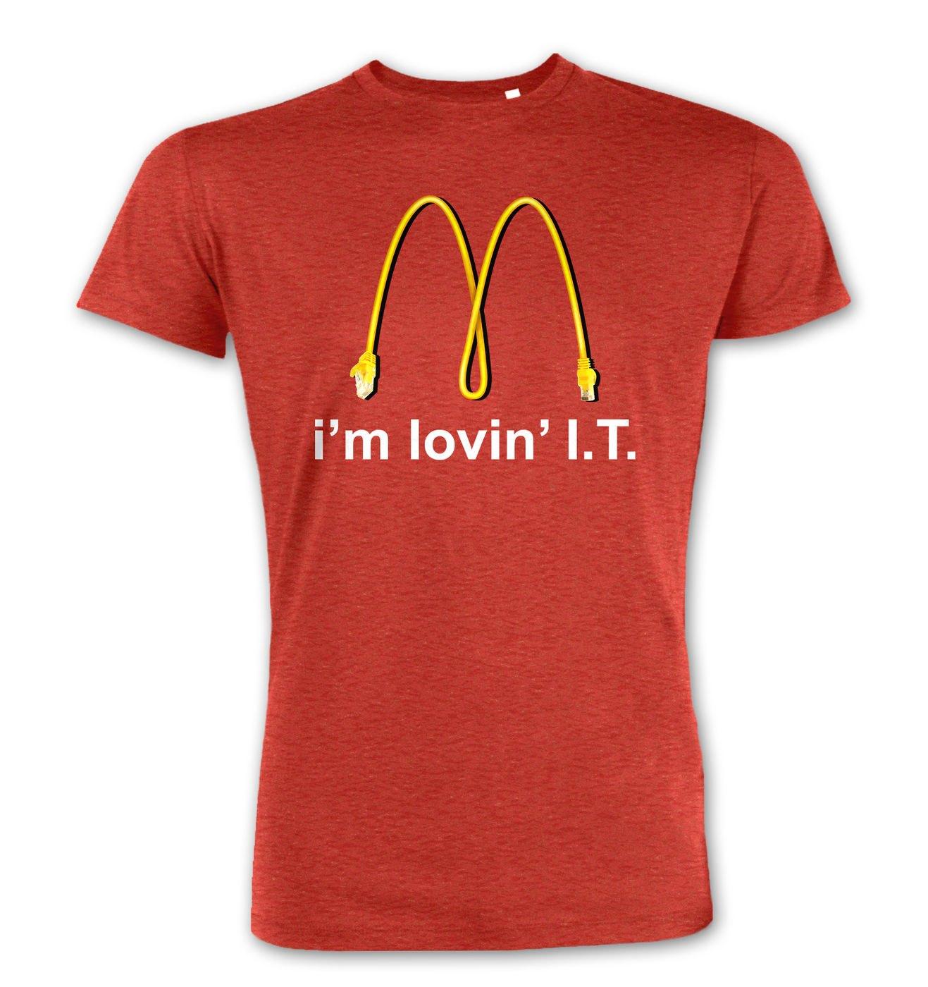 I'm Lovin' I.T. premium t-shirt by Something Geeky