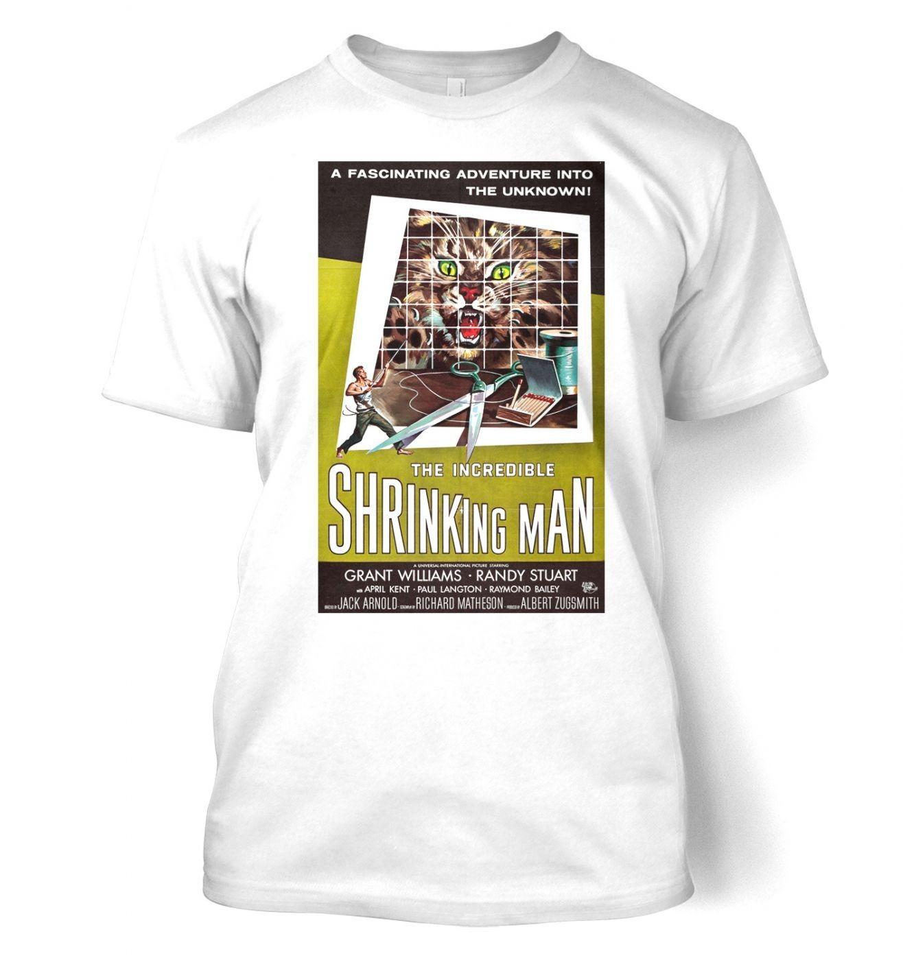 Incredible Shrinking Man men's t-shirt