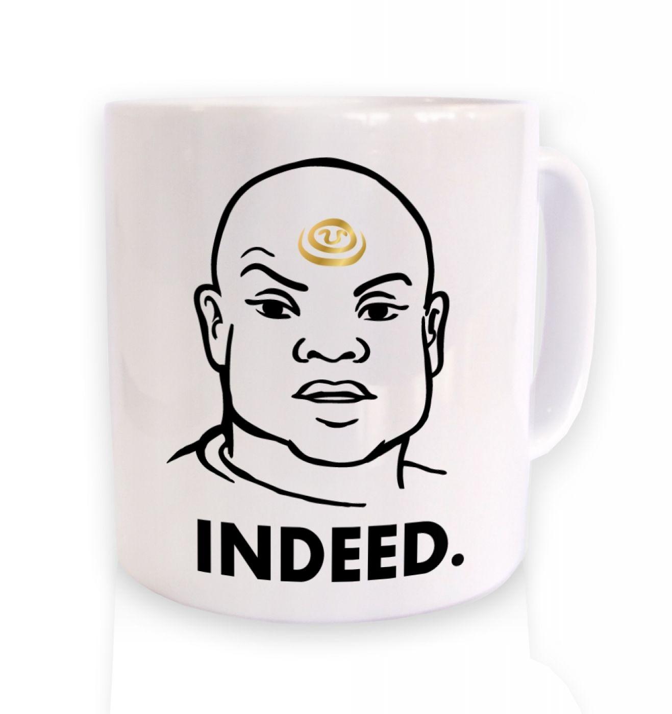 Indeed Teal'c mug