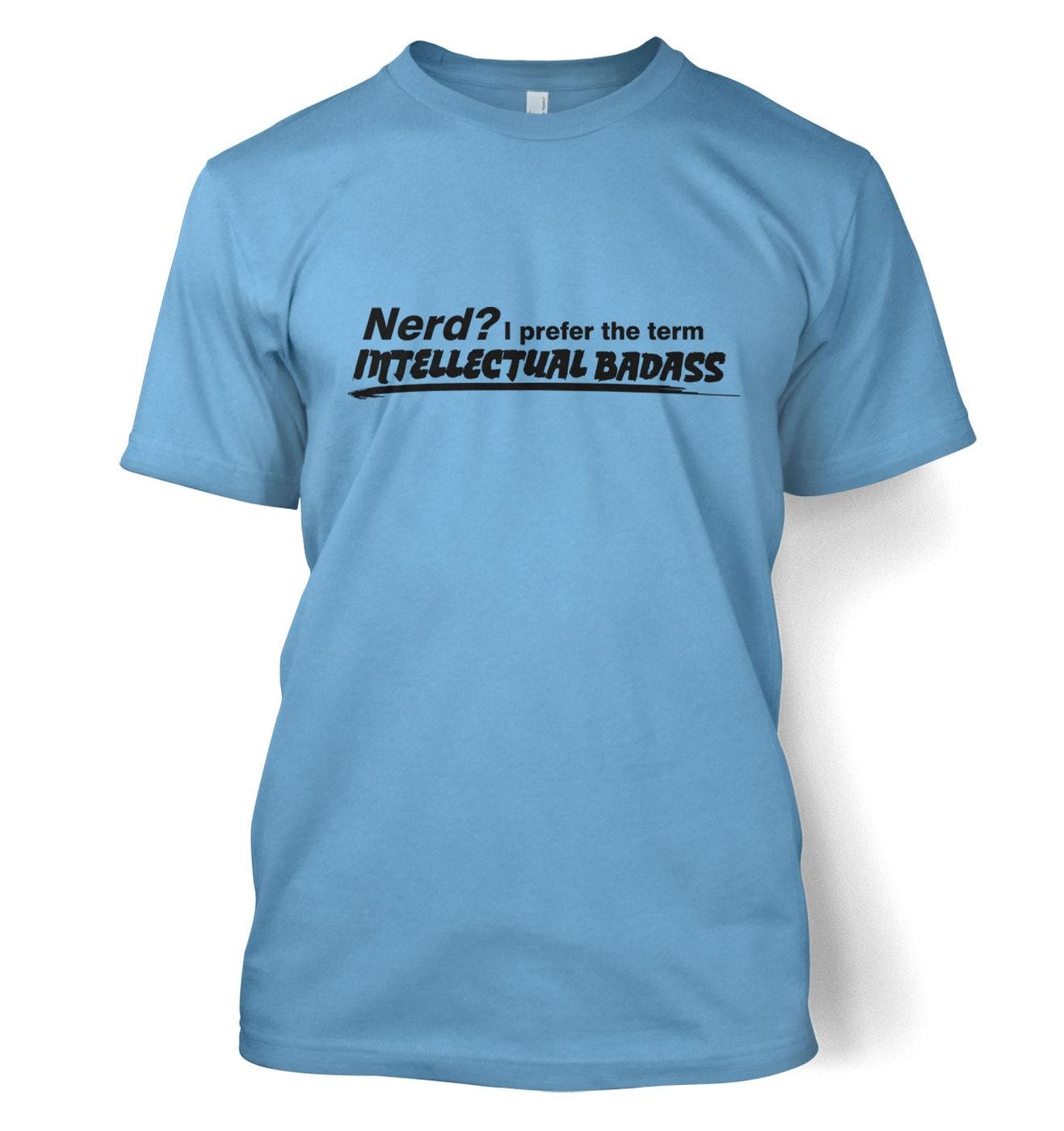Intellectual Badass men's t-shirt