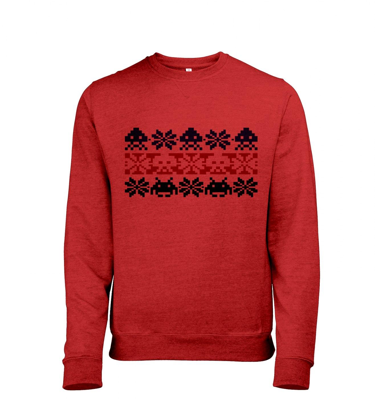 Isle Invaders men's heather sweatshirt