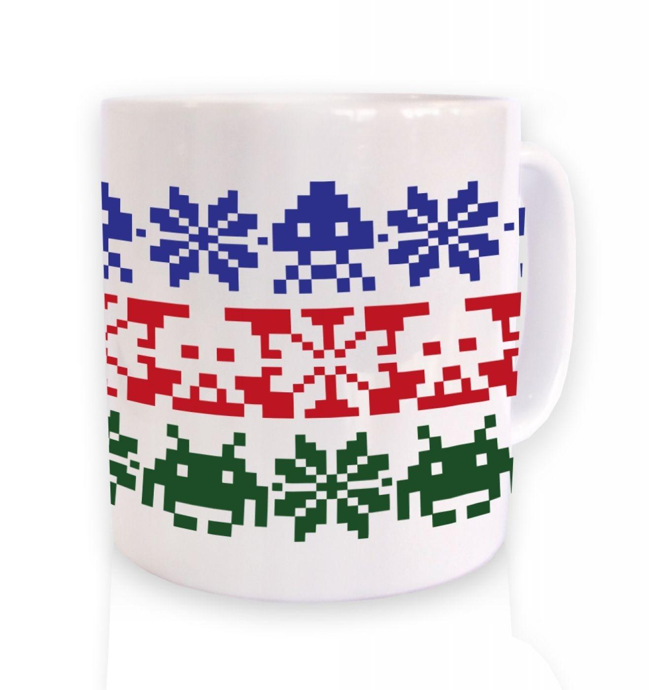 Isle Invaders ceramic coffee mug