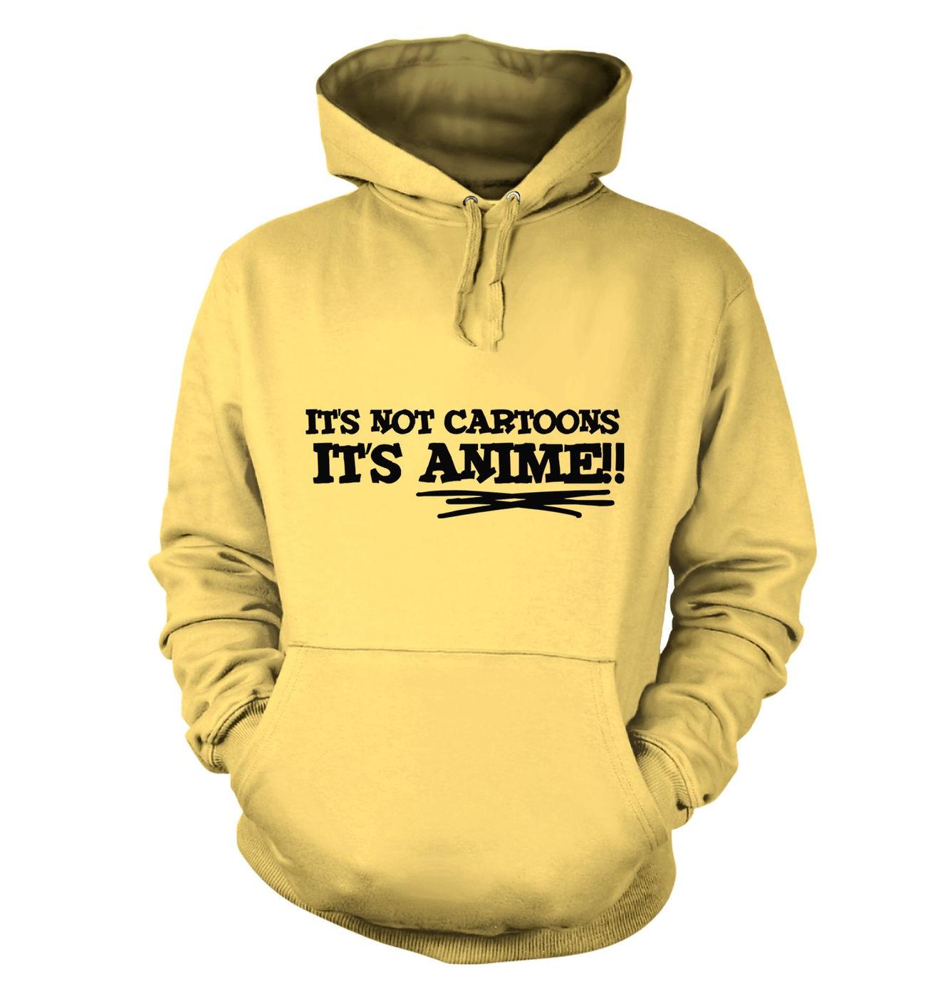 It's Not Cartoons! adults' hoodie