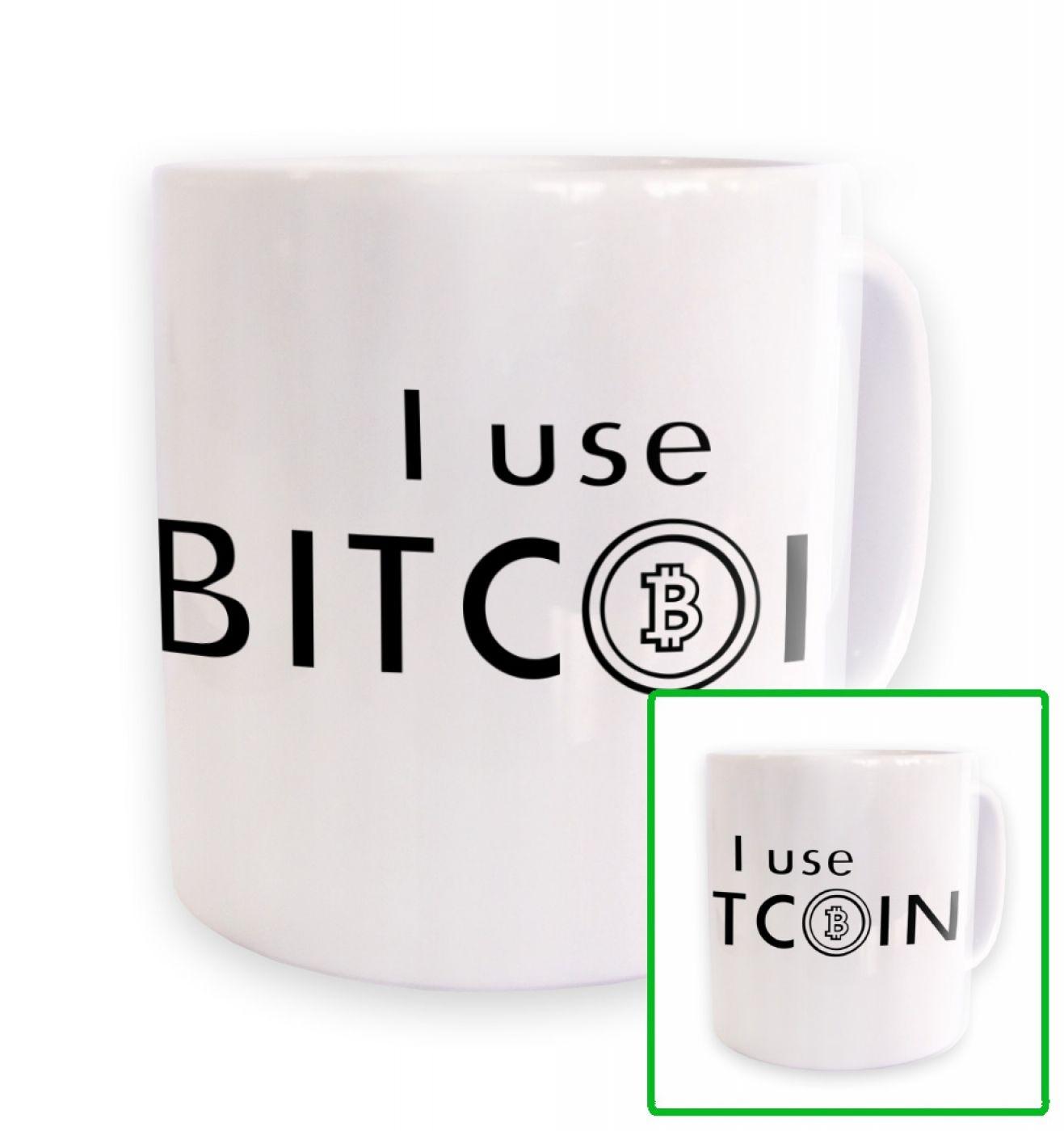 I Use Bitcoin mug
