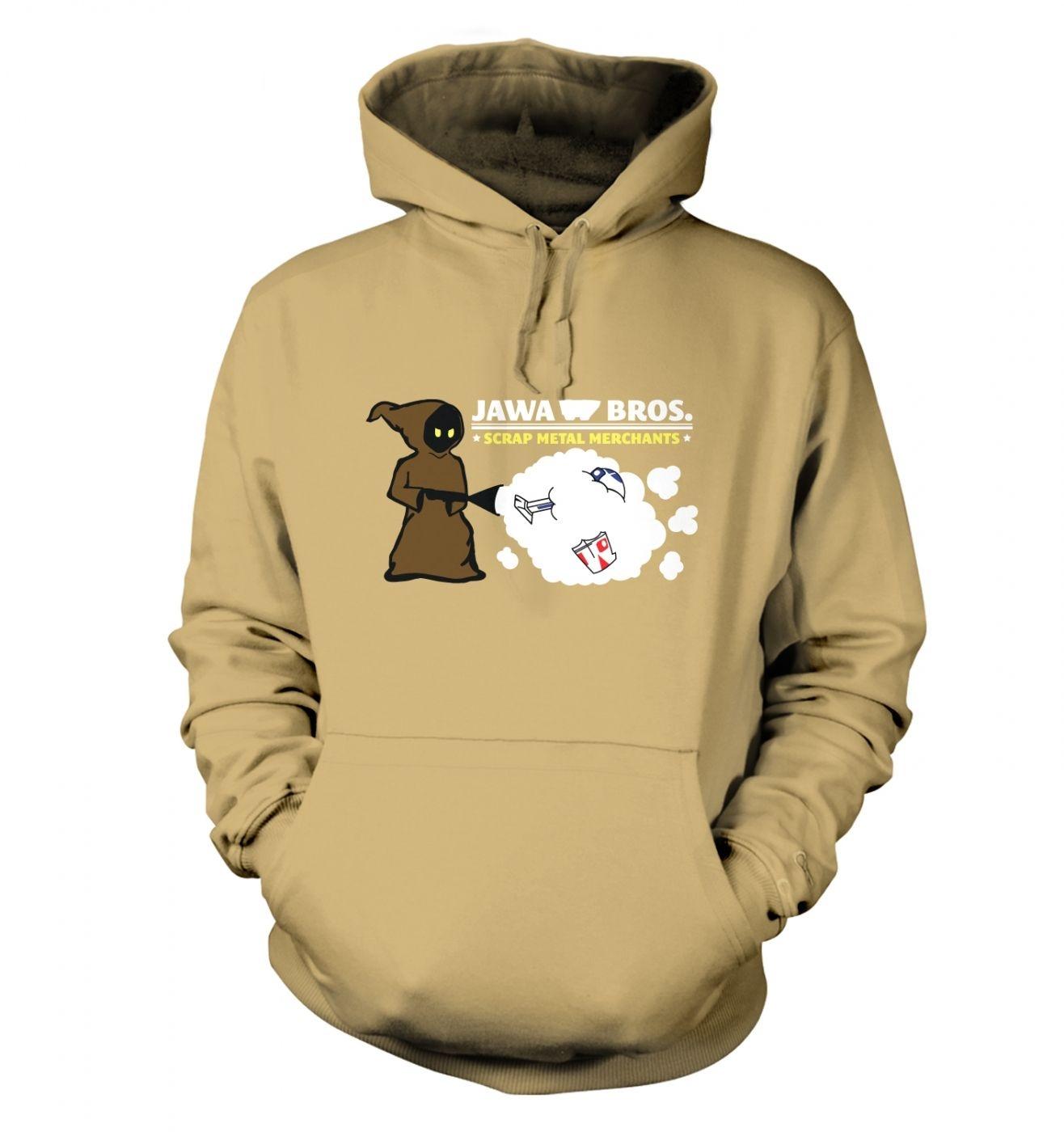 Version 1 - Jawa Bros. Scrap Metal Merchants hoodie - Inspired by Star Wars