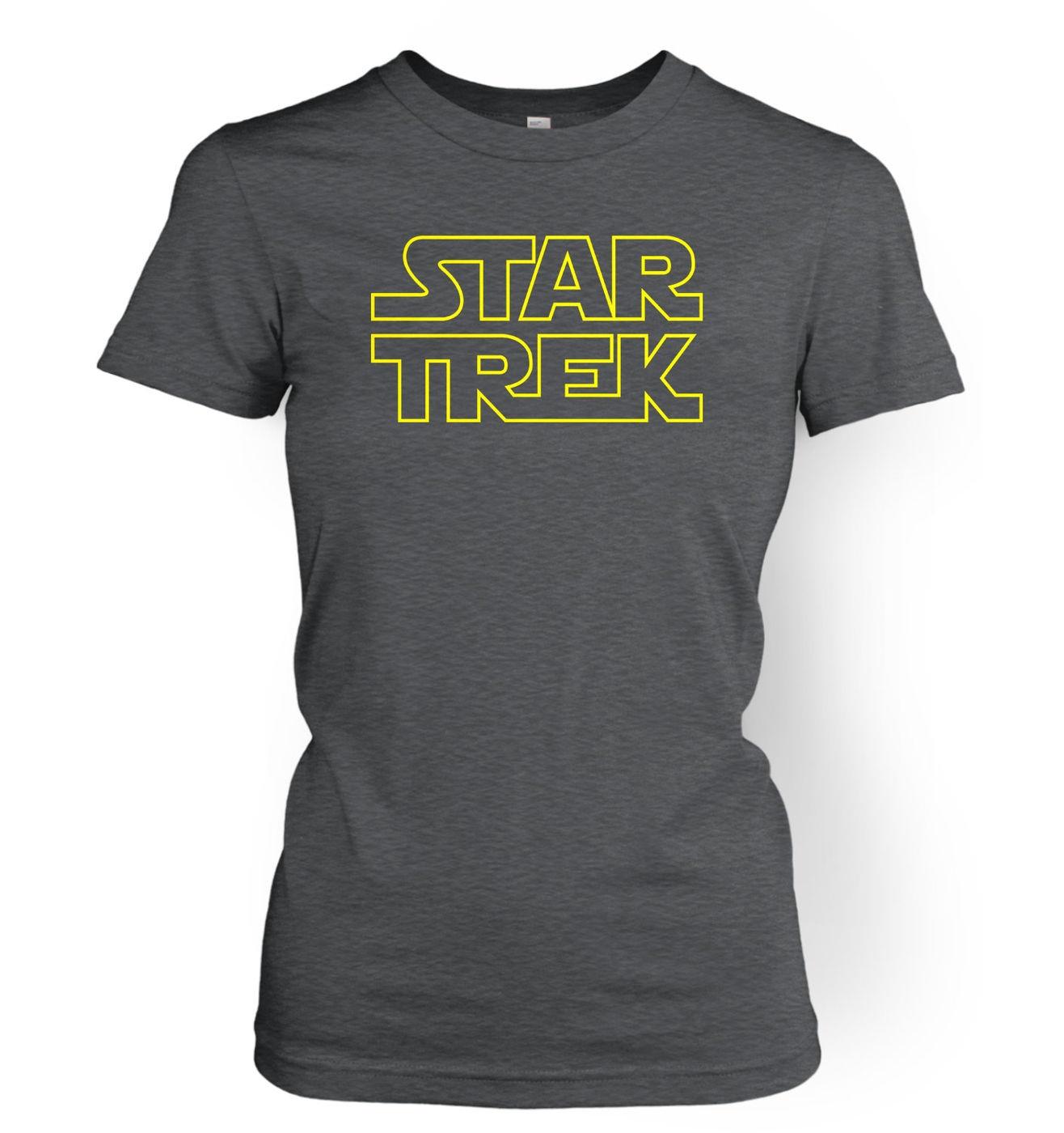 Jedi Trek womens t-shirt