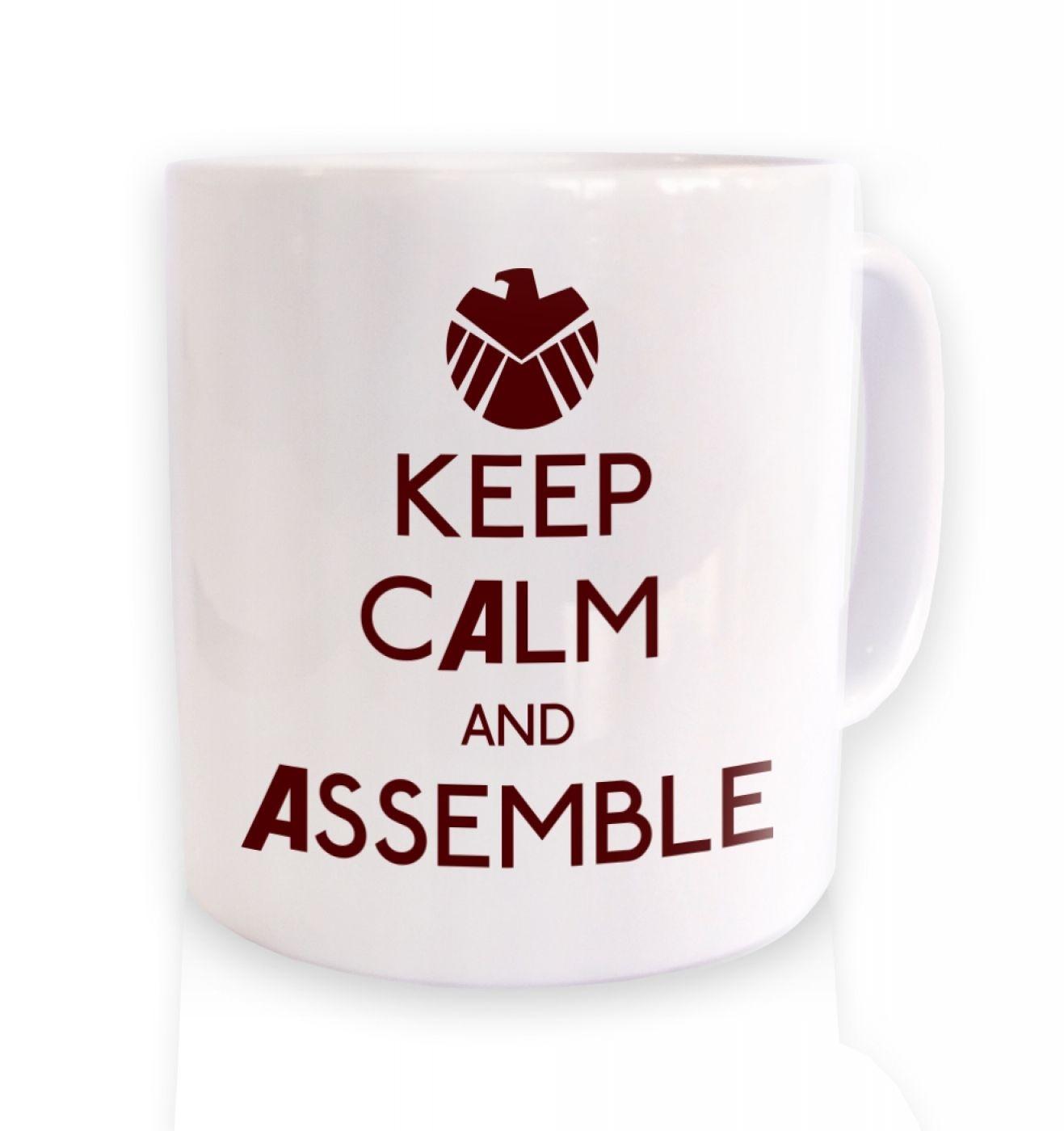 Keep Calm And Assemble mug