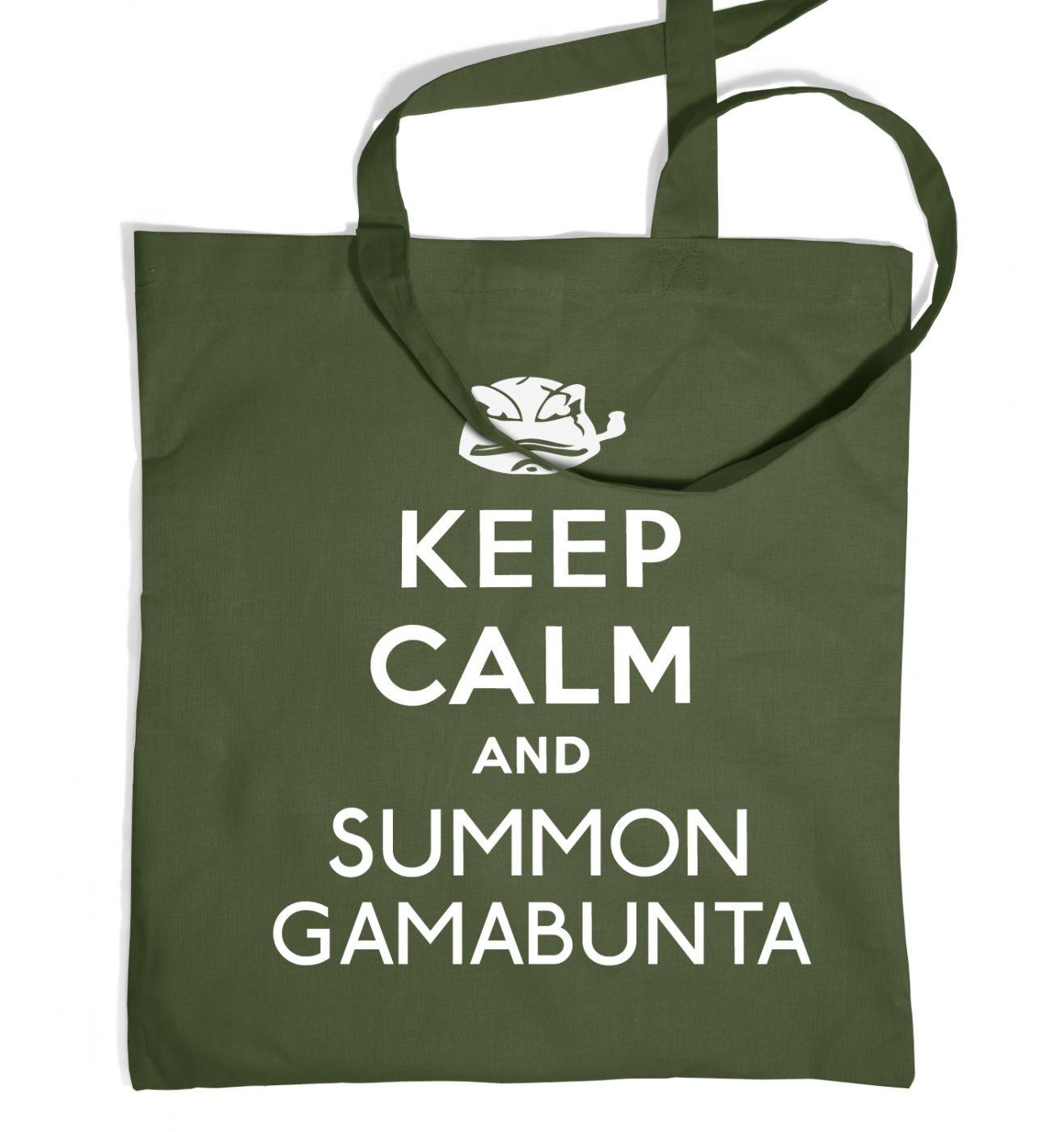 Keep Calm and Summon Gamabunta Tote Bag