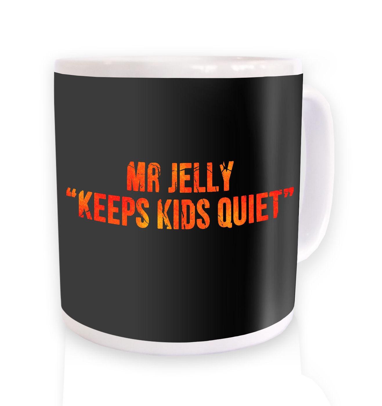 Keeps Kids Quiet mug by Something Geeky