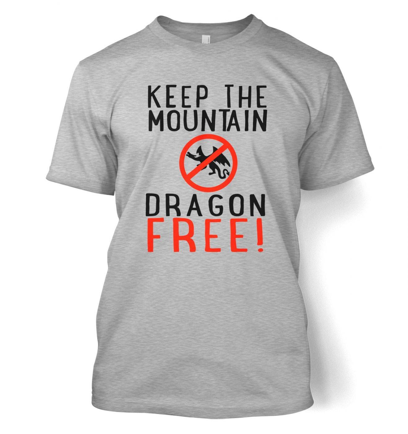Keep The Mountain Dragon Free t-shirt