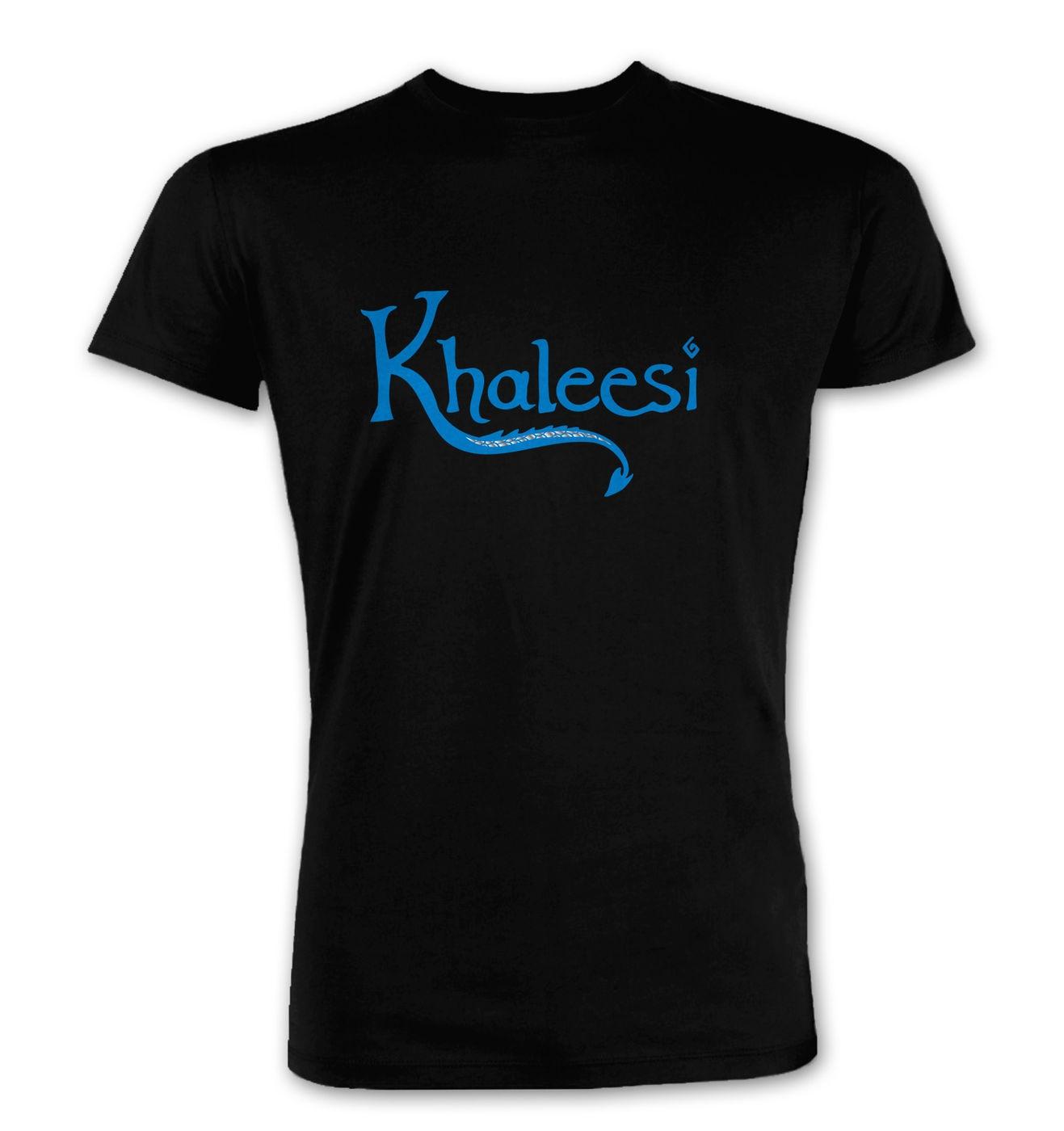 Khaleesi (blue) premium t-shirt by Something Geeky