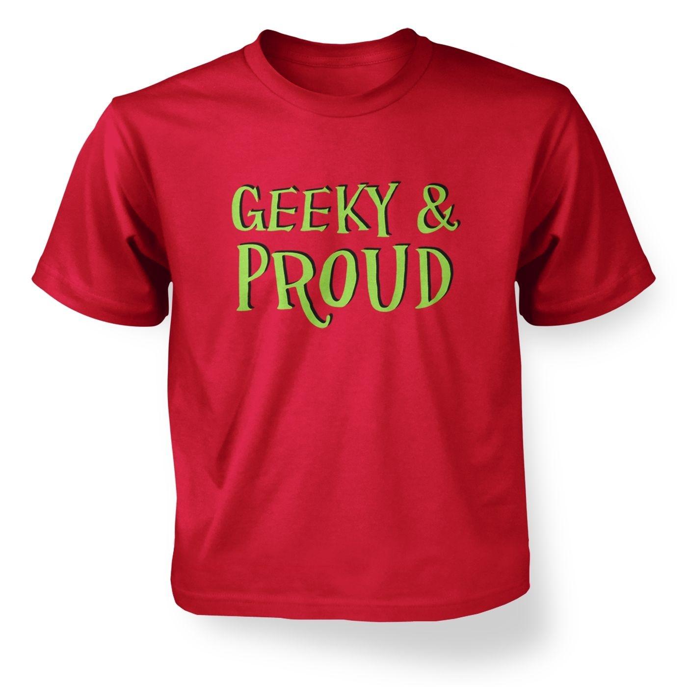 Kids Geeky & Proud T-Shirt