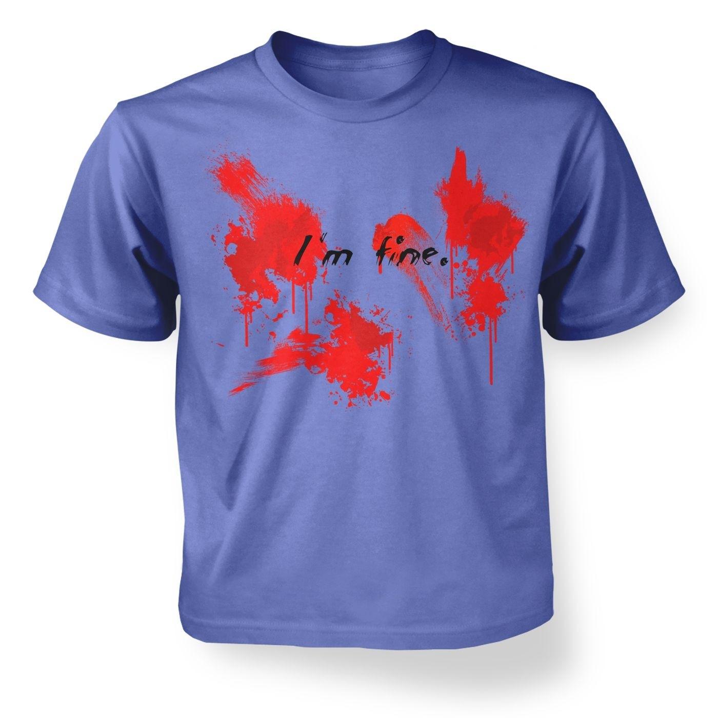 Kids' I'm fine t-shirt