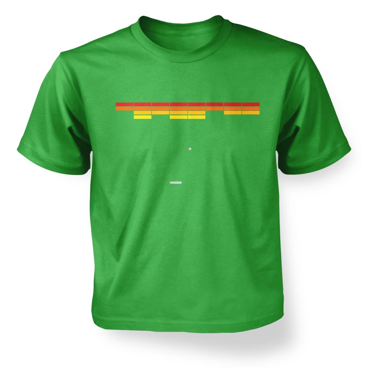 Retro Arcade Style (red/yellow) kids' t-shirt