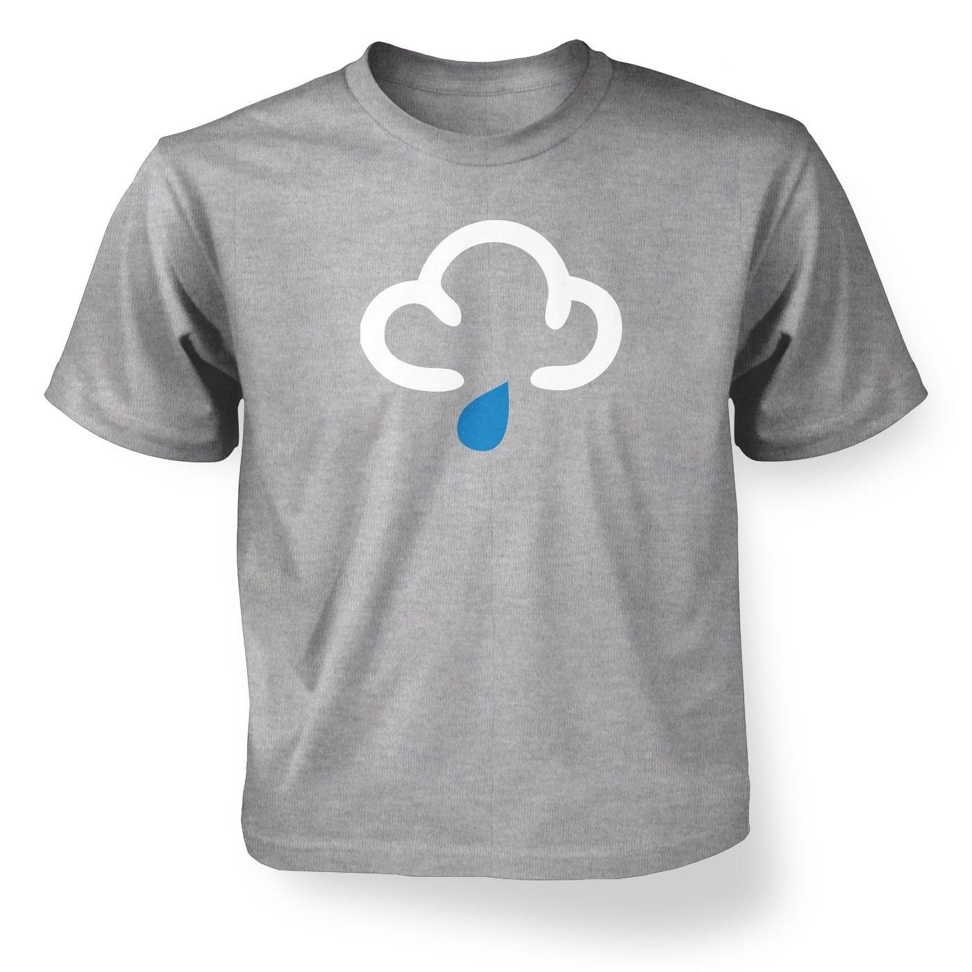 Kids' Weather Symbol Showers t-shirt