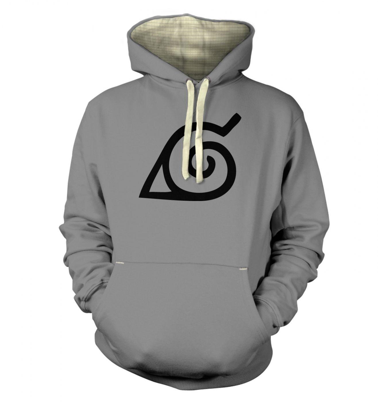 Konoha Leaf premium hoodie
