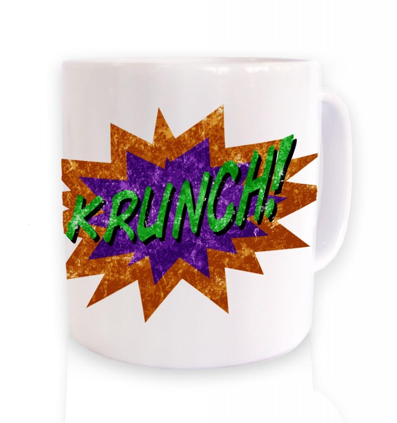 Krunch ceramic coffee mug