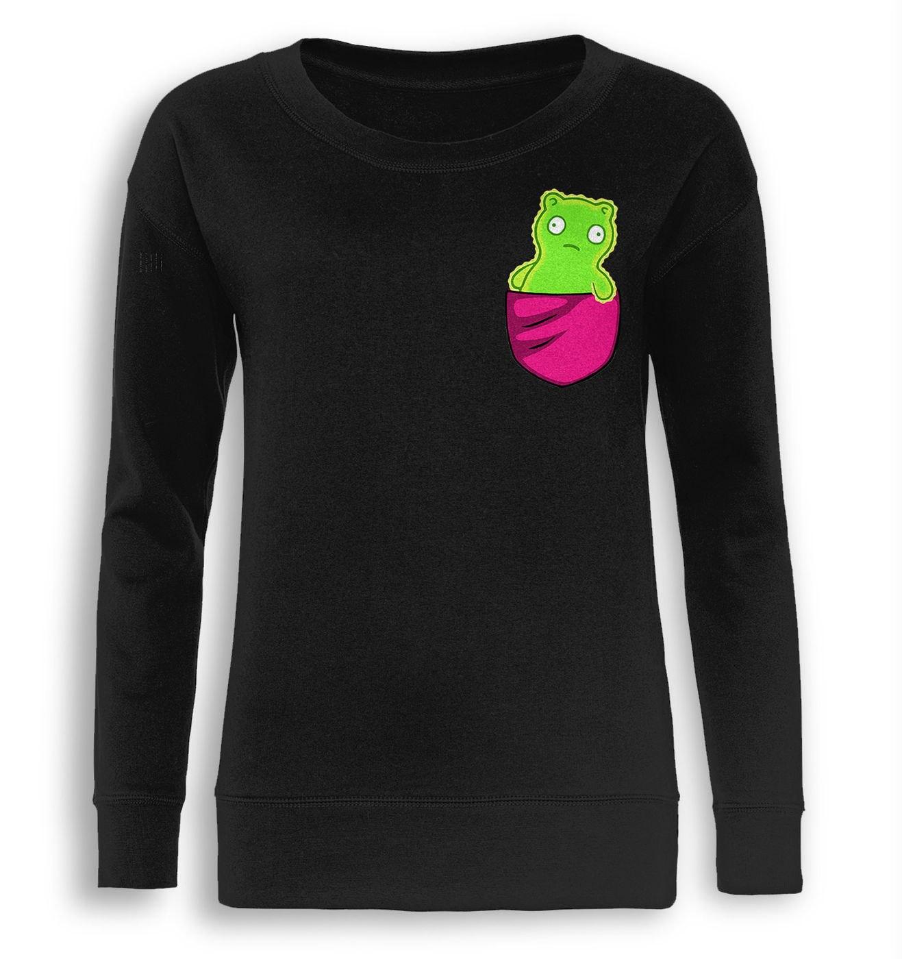 Kuchi Kopi Pocket fitted women's sweatshirt by Something Geeky