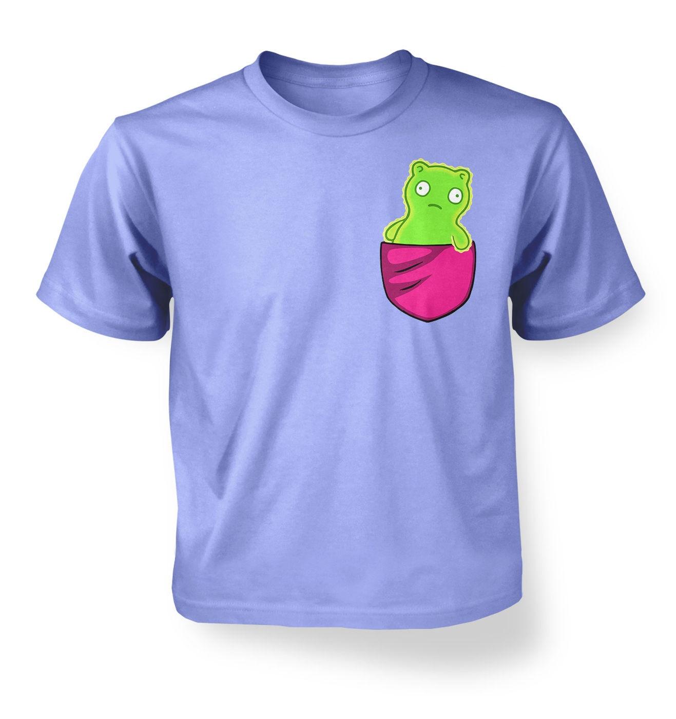 Kuchi Kopi Pocket kids t-shirt by Something Geeky