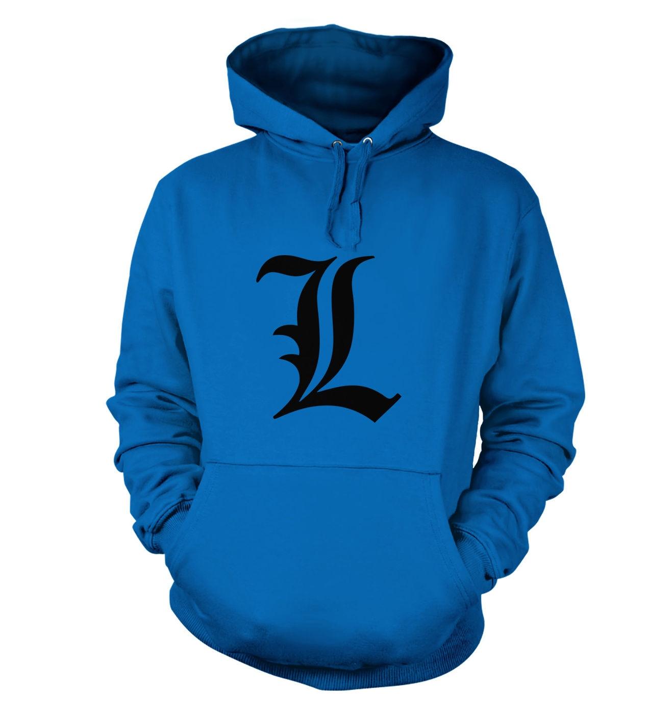 'L' hoodie