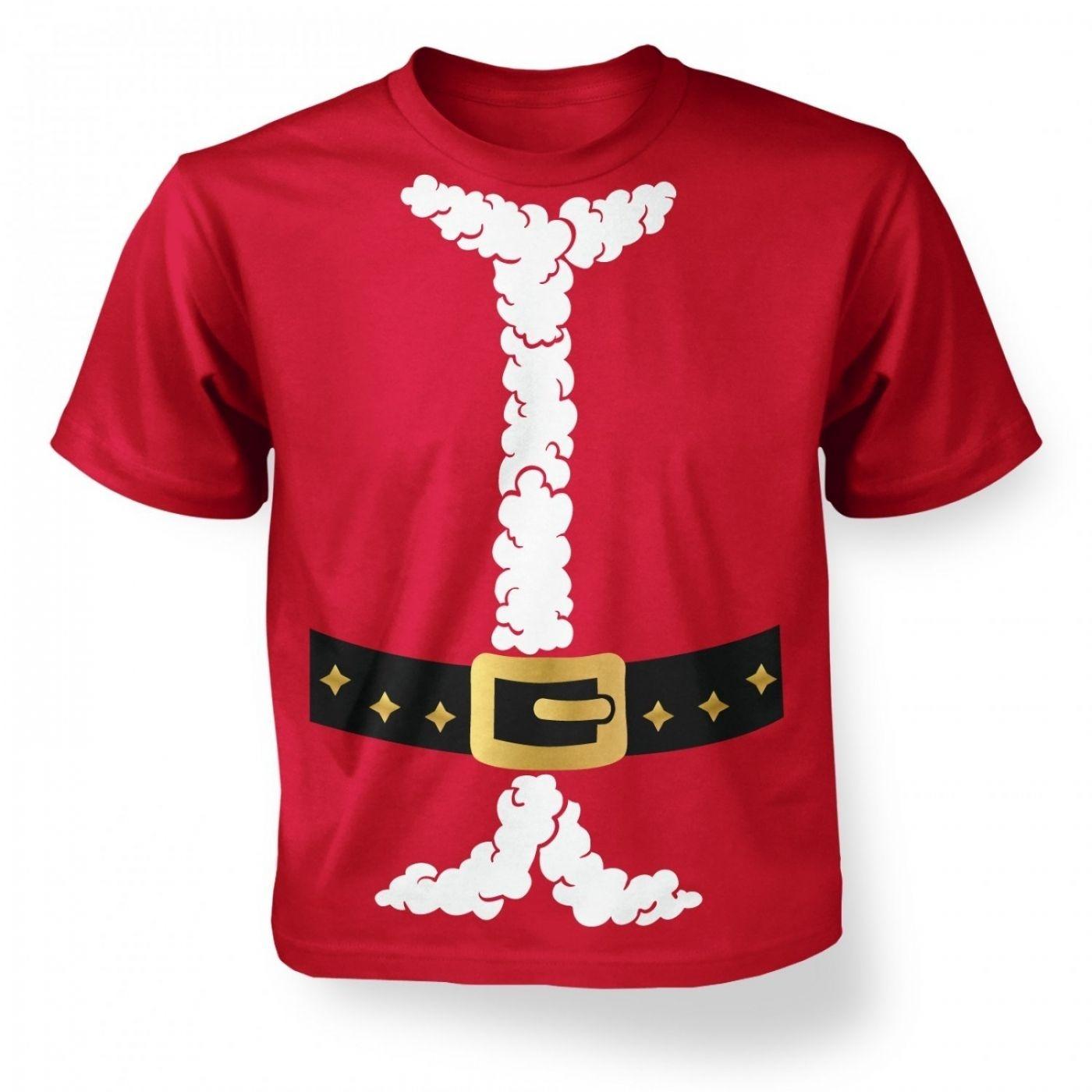 Little Santa's Costume Kid's T-shirt