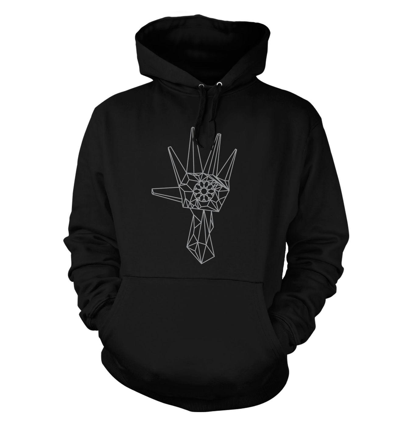 Logan's Hand hoodie by Something Geeky