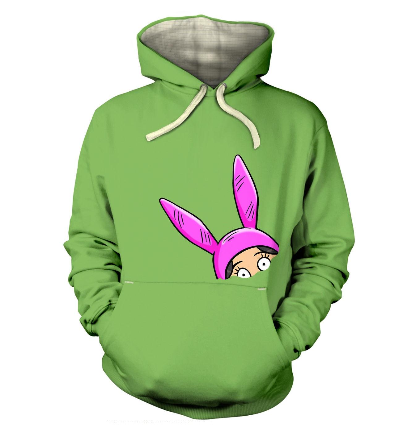 Louise Bunny Ears premium hoodie by Something Geeky