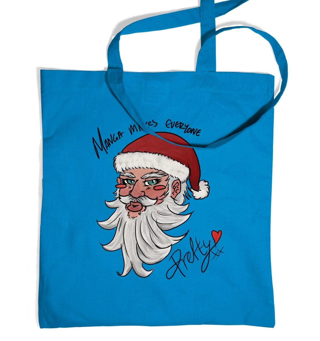 Manga Santa Tote Bag