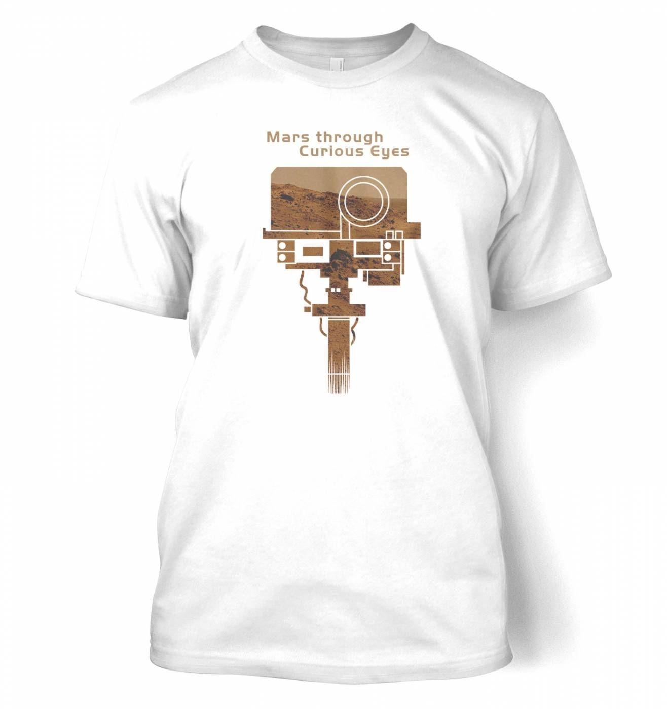 Mars Through Curious Eyes t-shirt