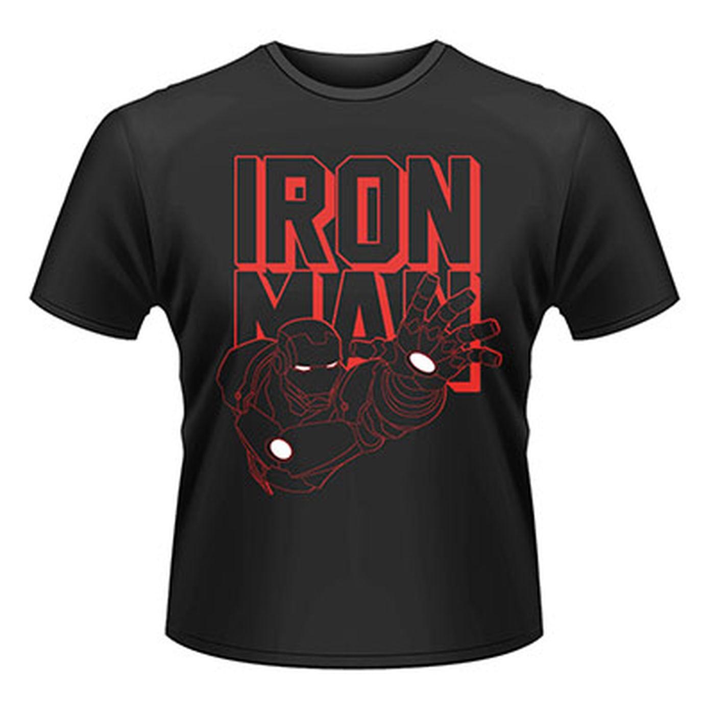 Marvel Avengers Assemble Iron Man Reach 2  Mens T-shirt