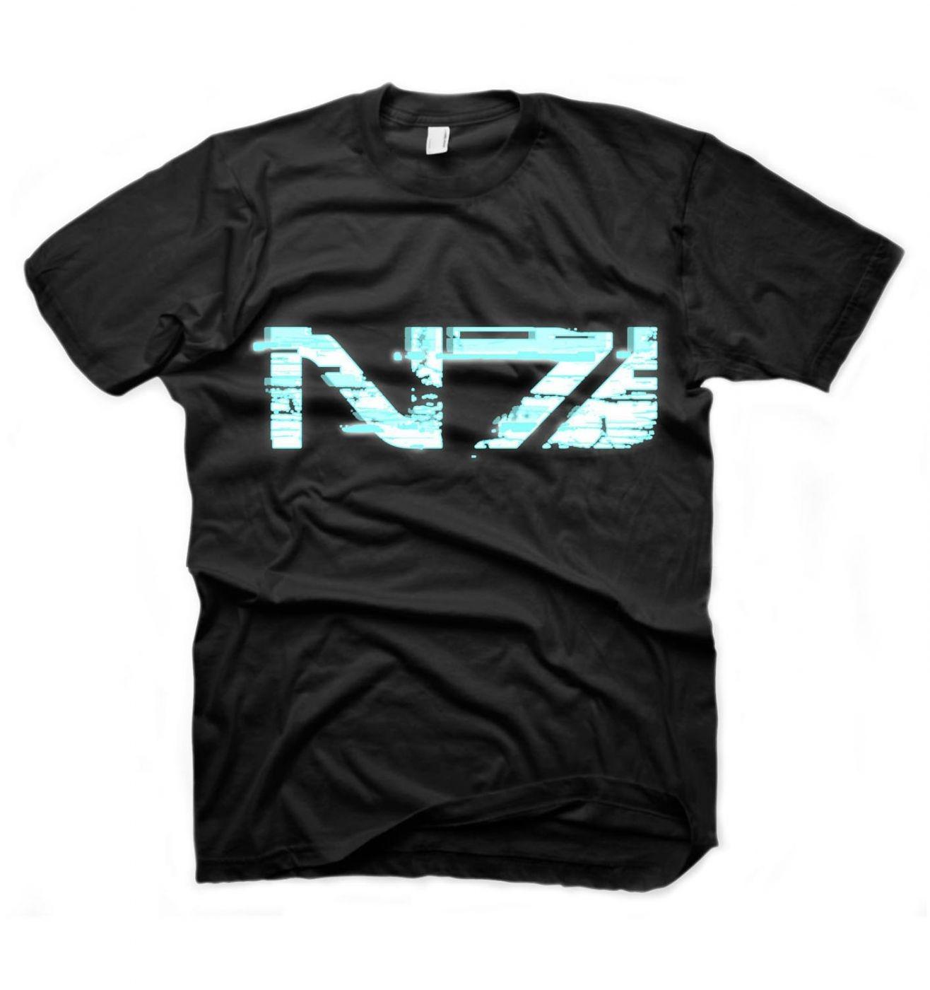Mass Effect 3 Glitch N7 Logo t-shirt - OFFICIAL