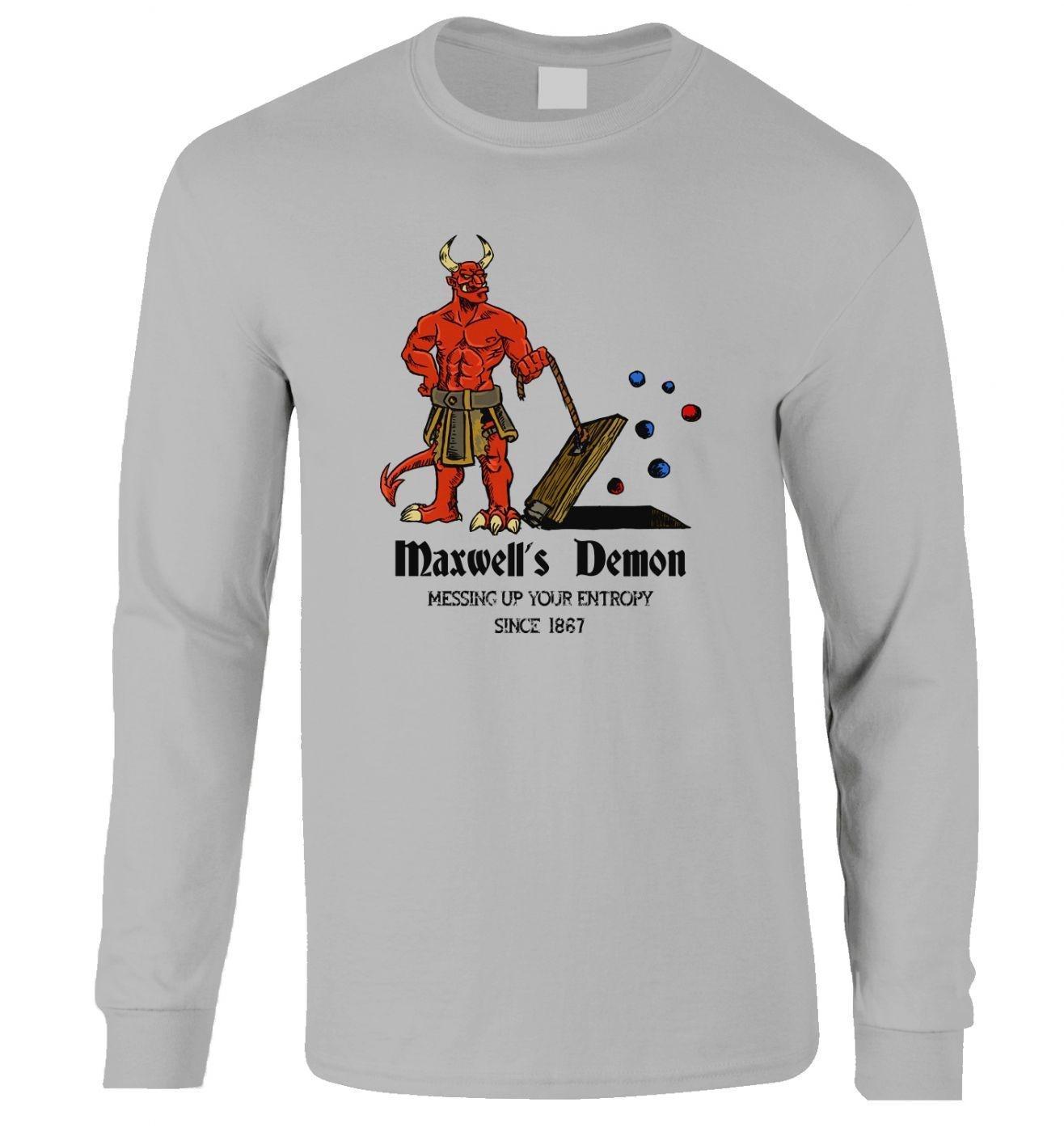 Maxwell's Demon long-sleeved t-shirt