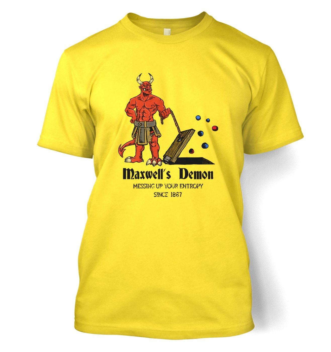 Maxwell's Demon t-shirt