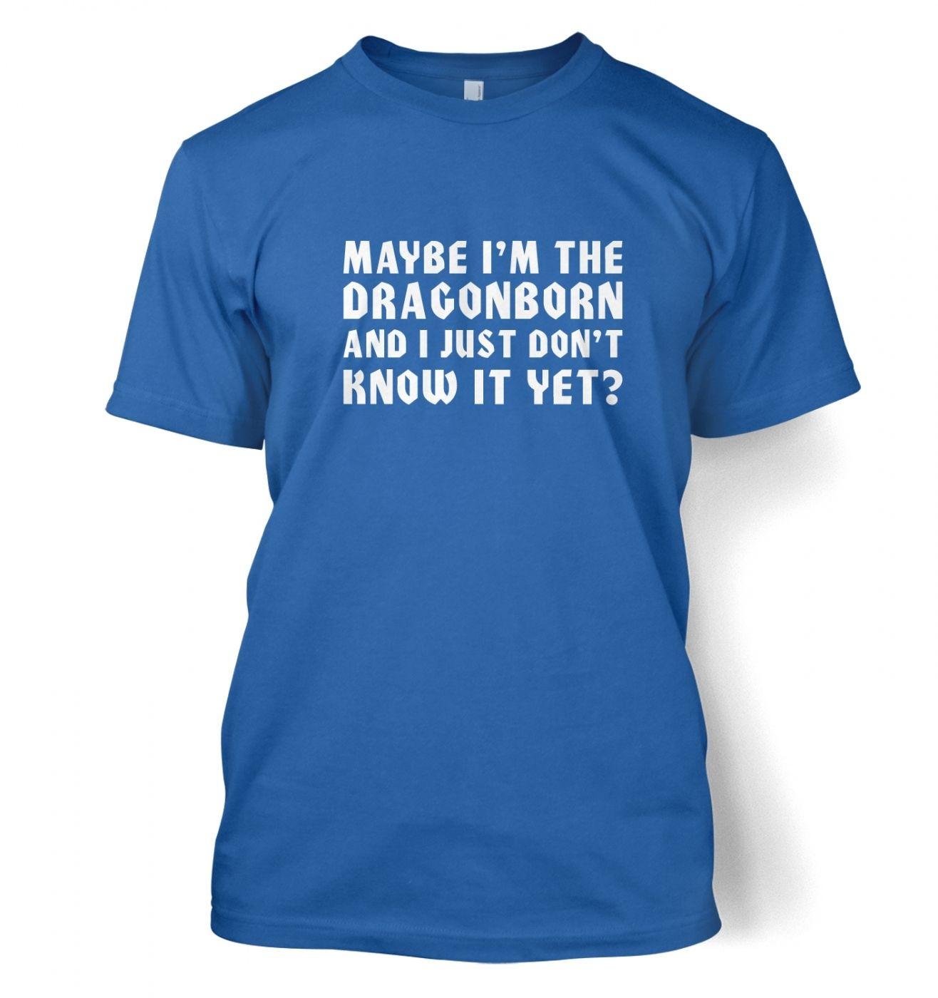 Maybe I'm The Dragonborn men's t-shirt
