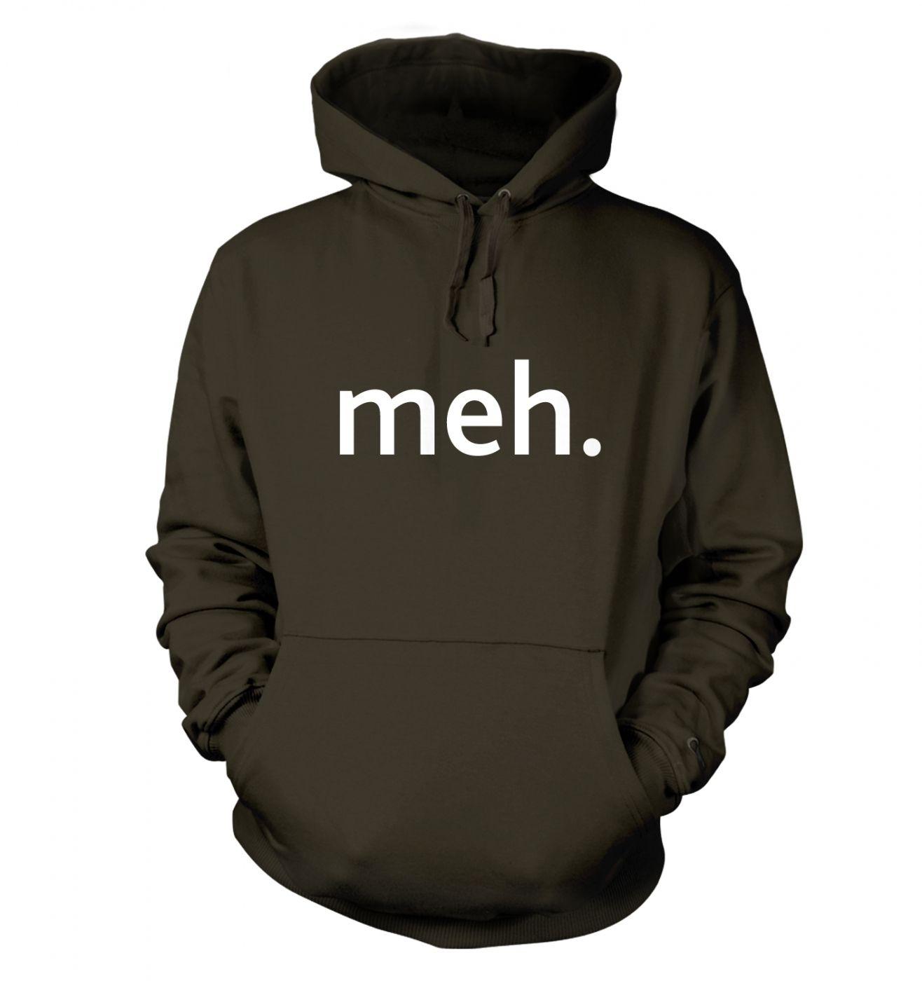 Meh adult's hoodie