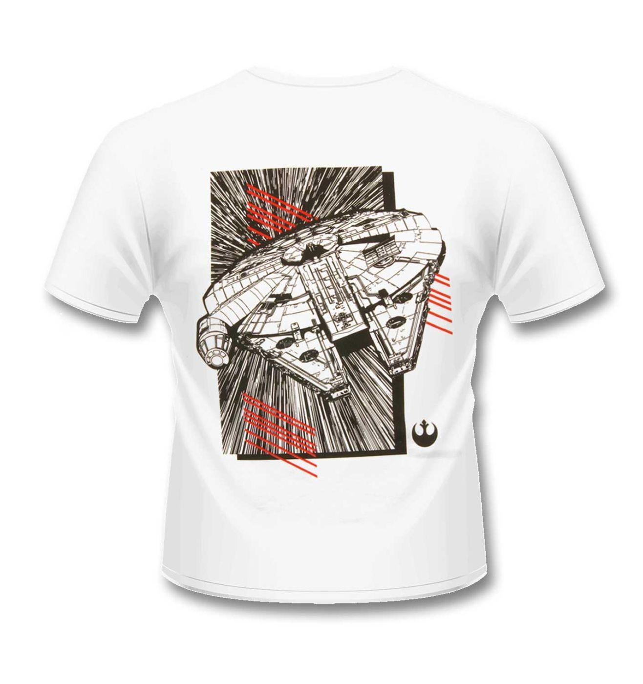 Millennium Falcon t-shirt