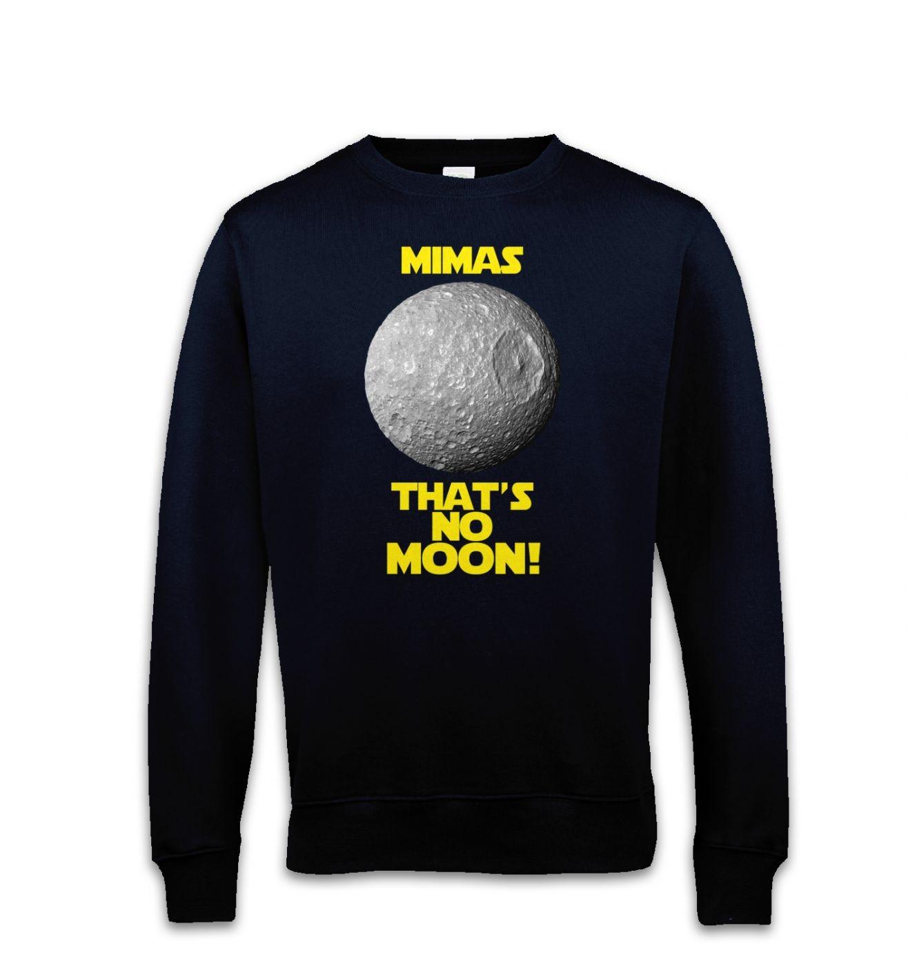 Mimas That's No Moon sweatshirt
