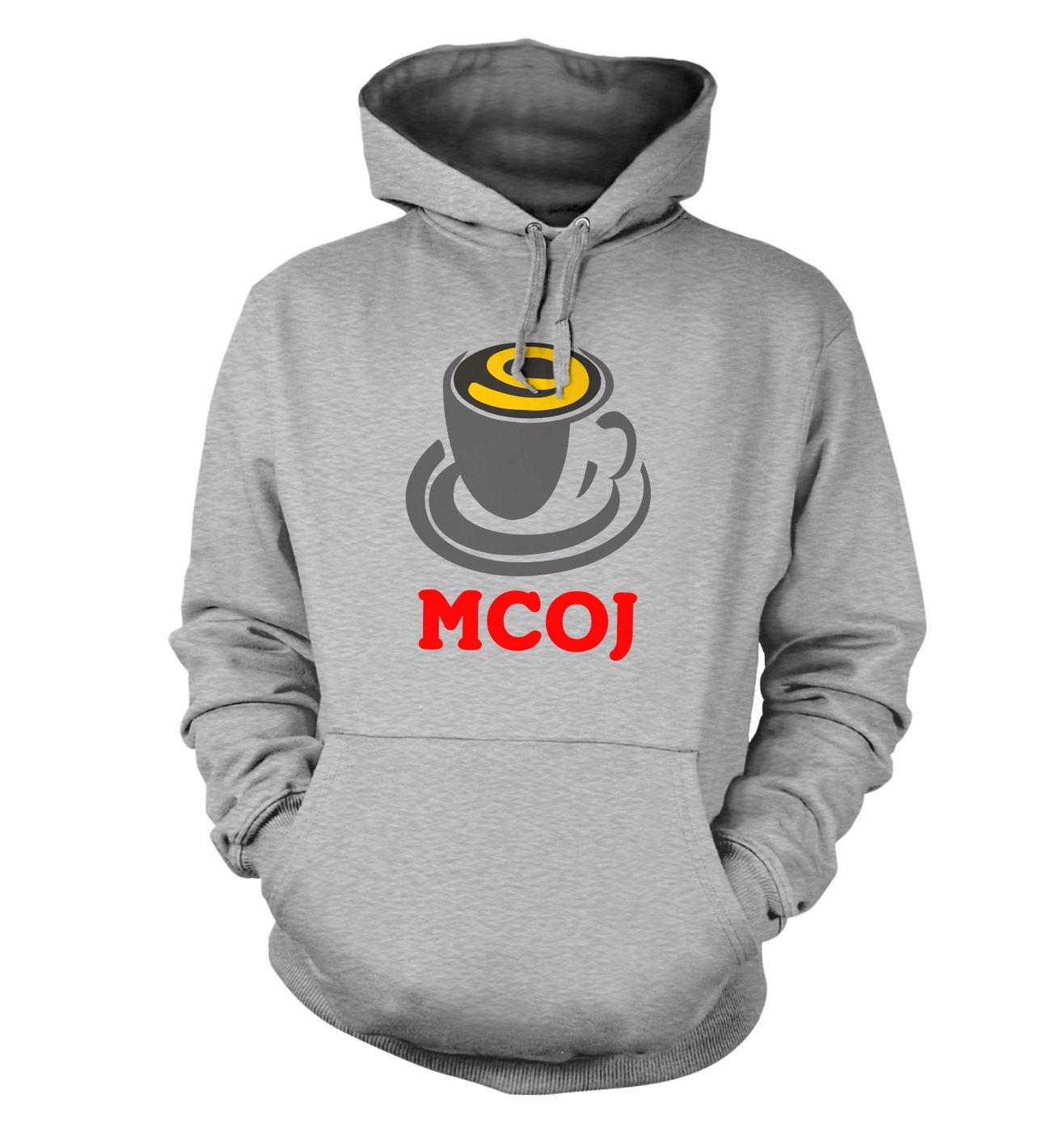 MobileCupOfJoe hoodie - MCOJ logo