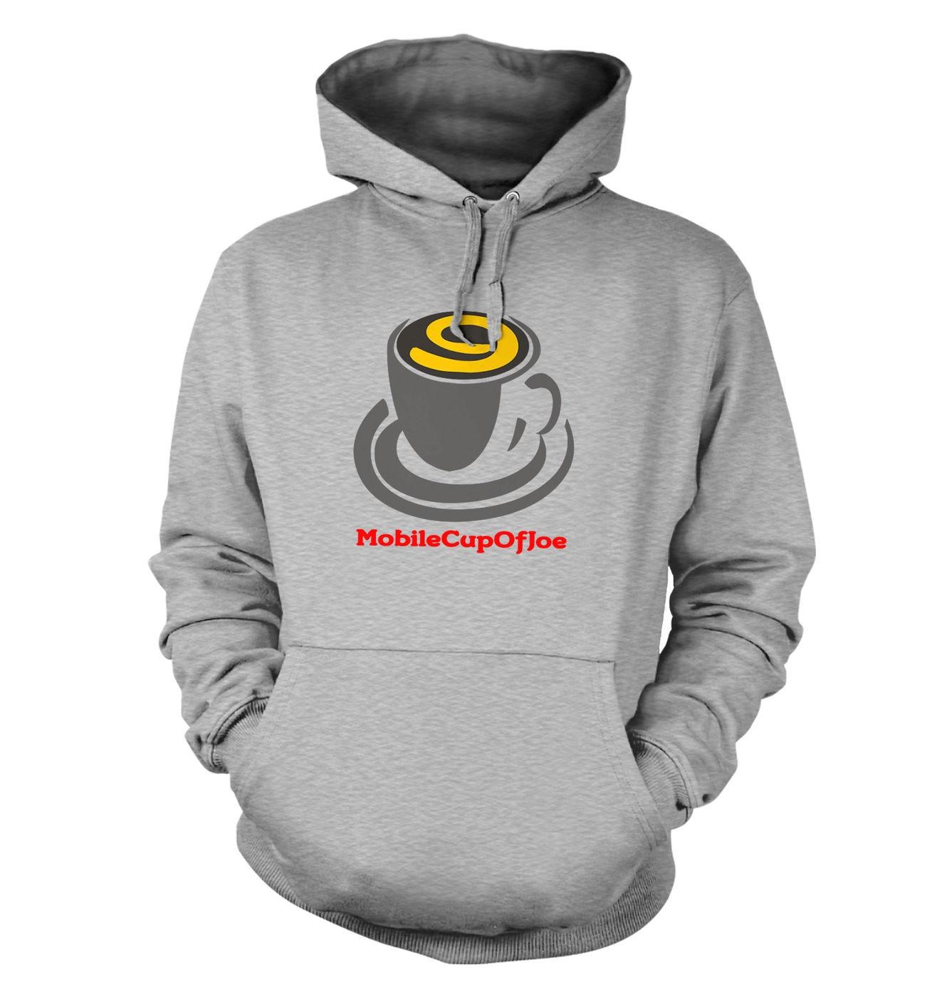 MobileCupOfJoe hoodie - stacked logo