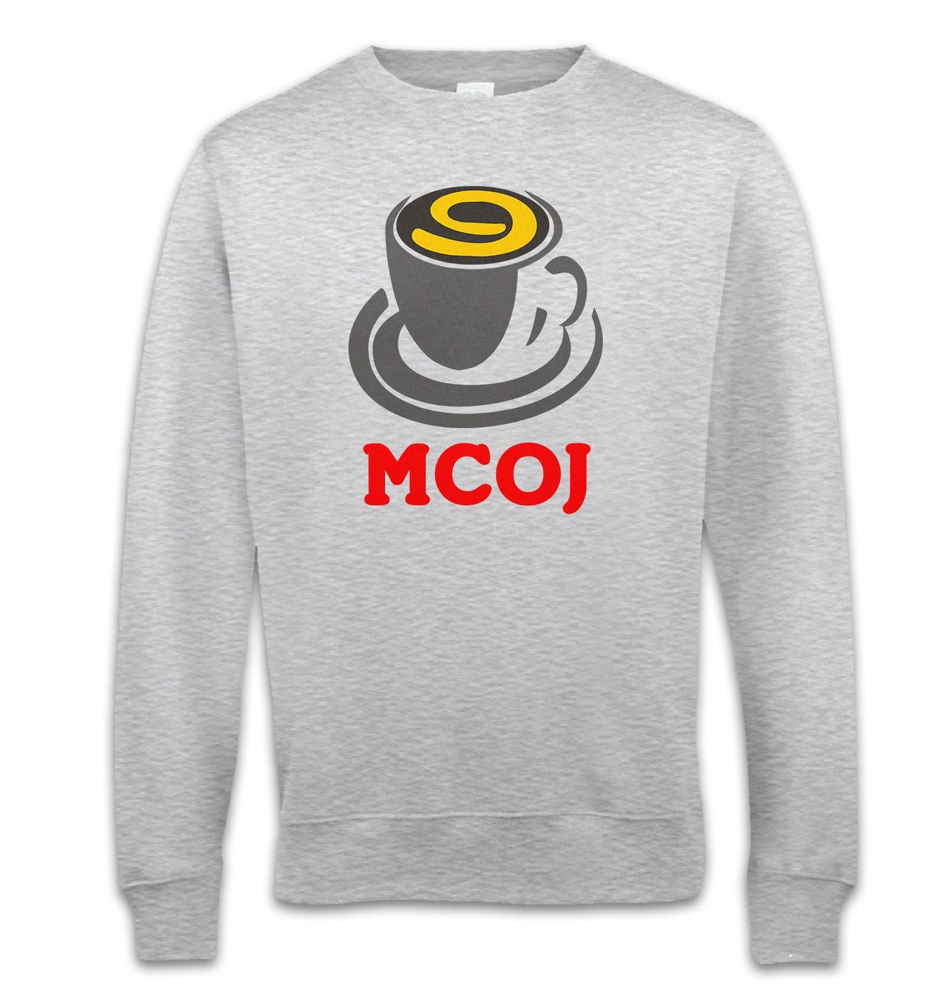 MobileCupOfJoe sweatshirt - MCOJ logo