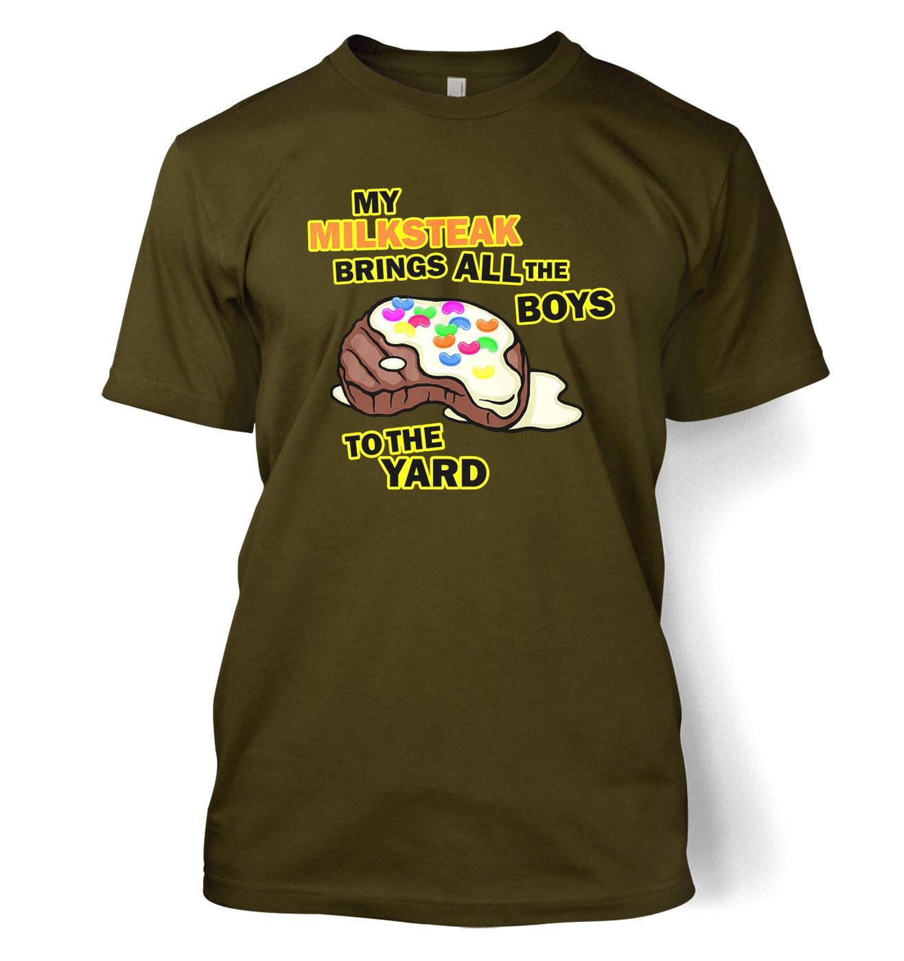 My Milksteak (Boys) t-shirt by Something Geeky
