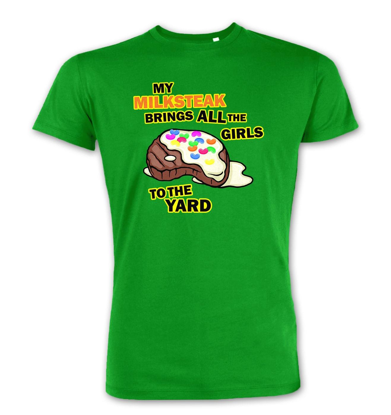 My Milksteak (Girls) premium t-shirt by Something Geeky