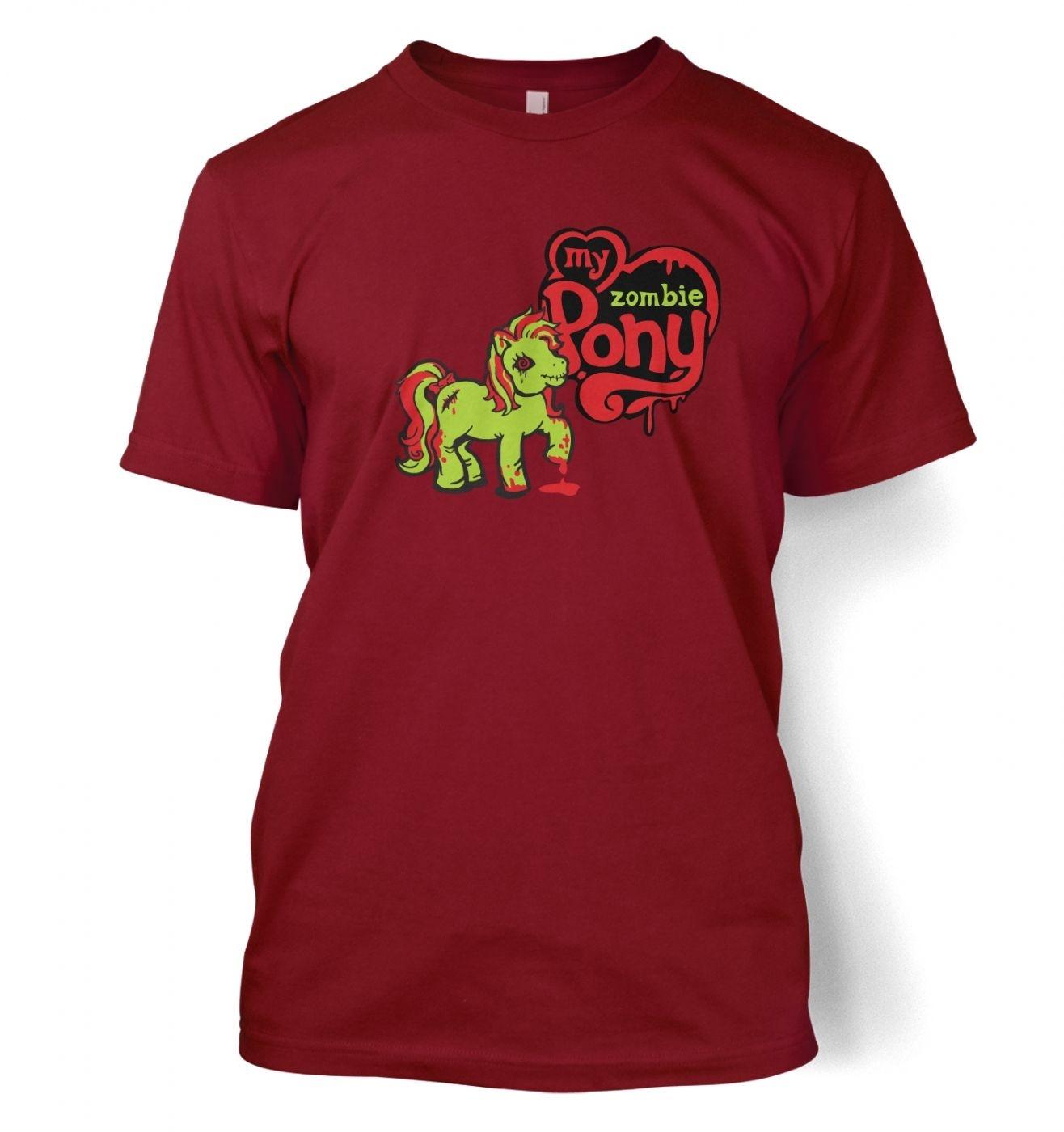 My Zombie Pony t-shirt- inspired by My Little Pony