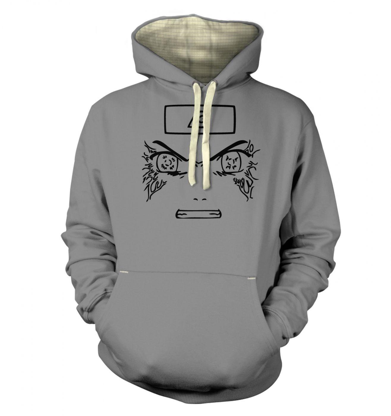 Neji Face Hoodie (premium)